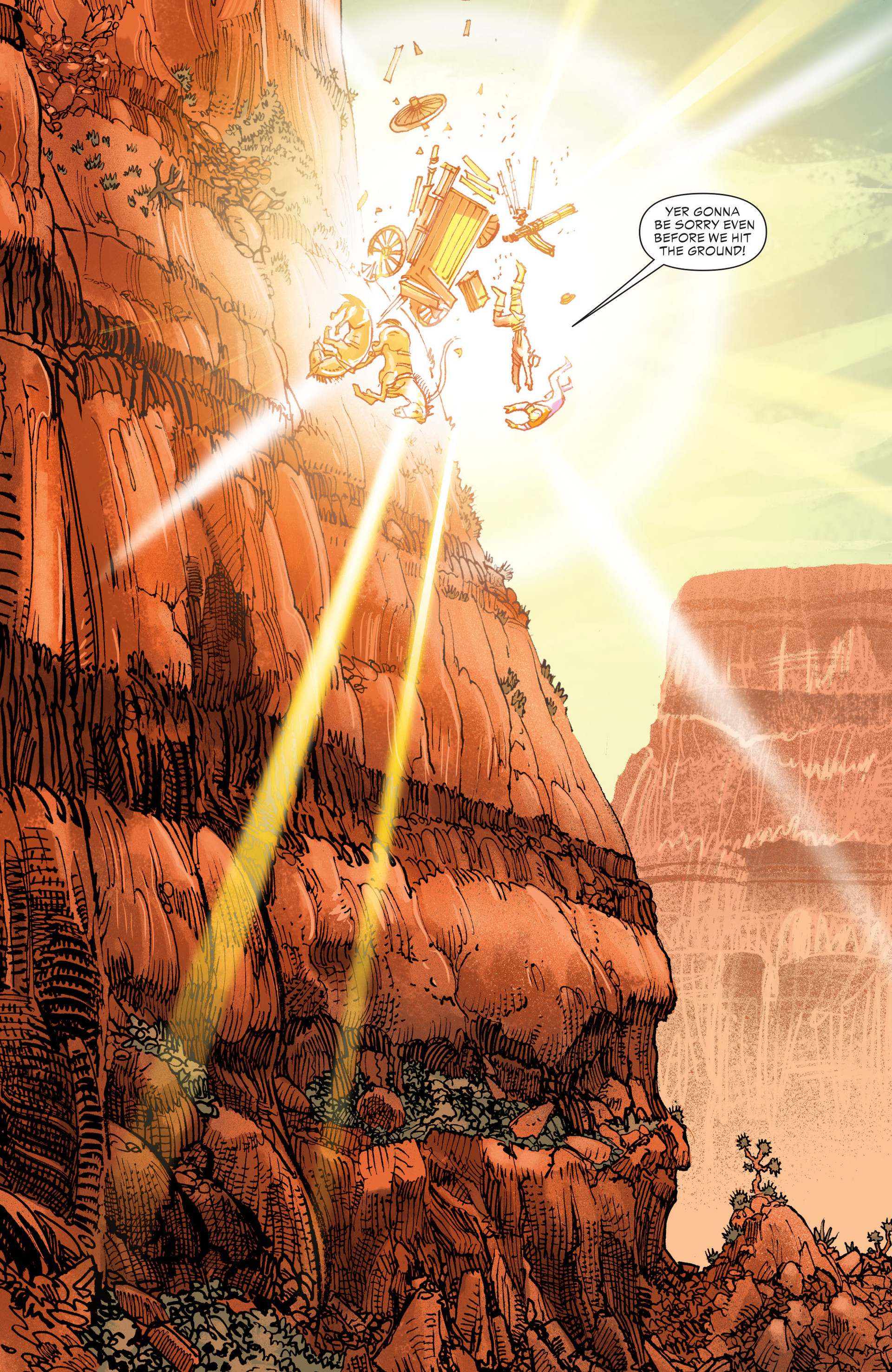Read online All-Star Western (2011) comic -  Issue #21 - 6