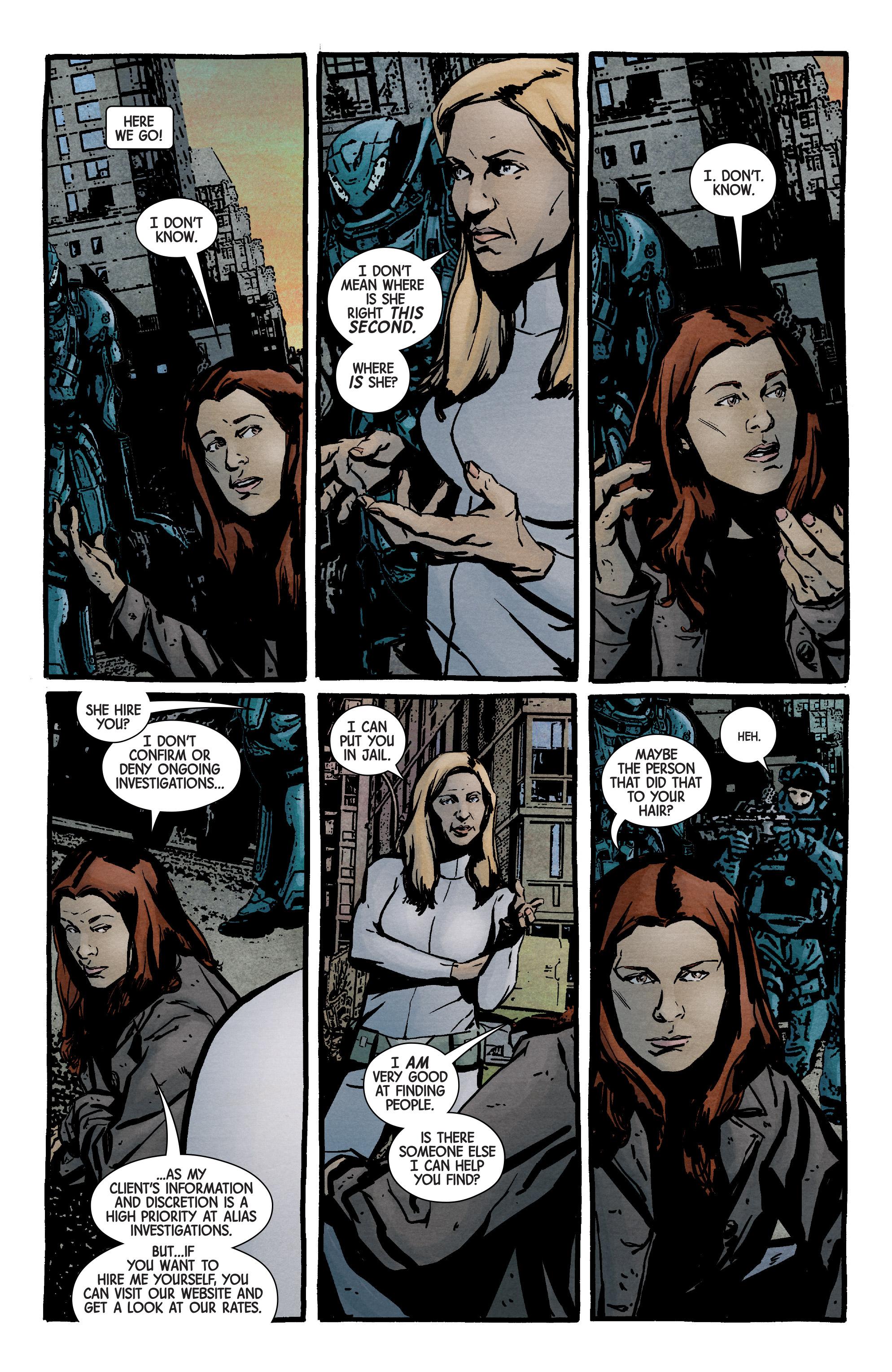 Read online Jessica Jones (2016) comic -  Issue #9 - 4