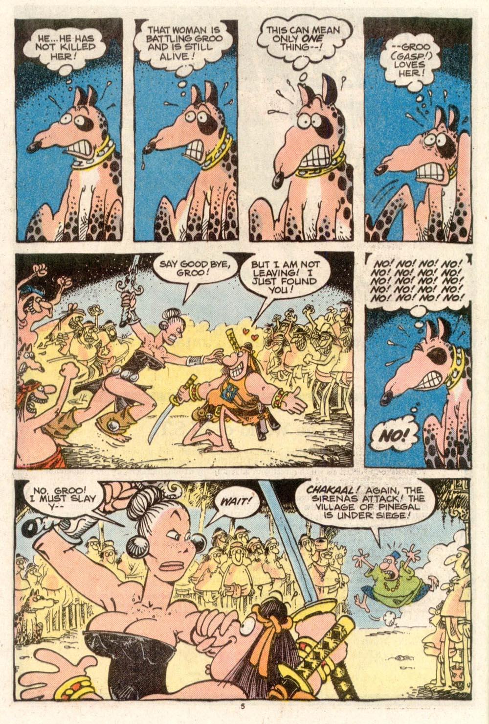Read online Sergio Aragonés Groo the Wanderer comic -  Issue #50 - 5