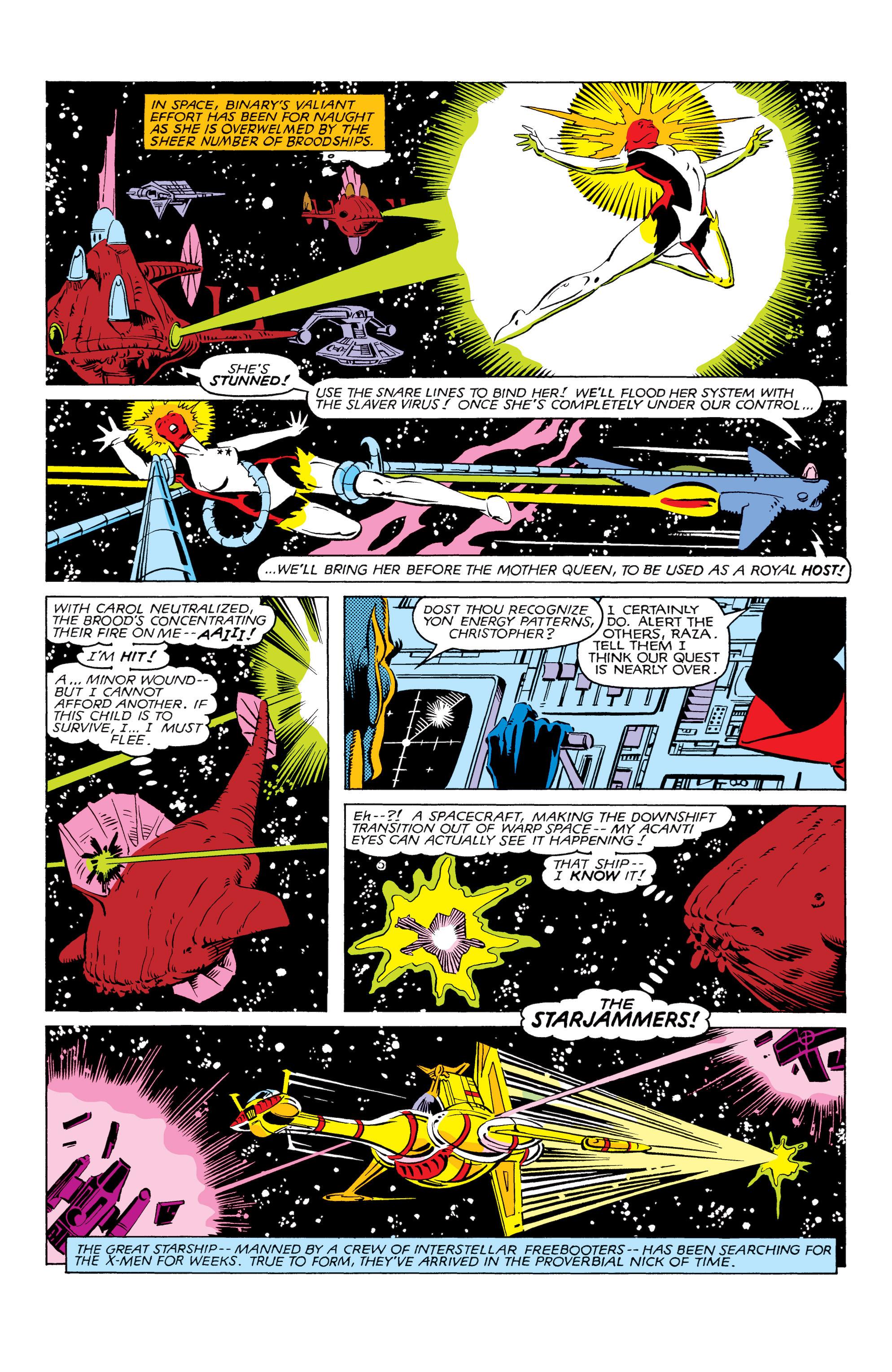 Read online Uncanny X-Men (1963) comic -  Issue #166 - 22