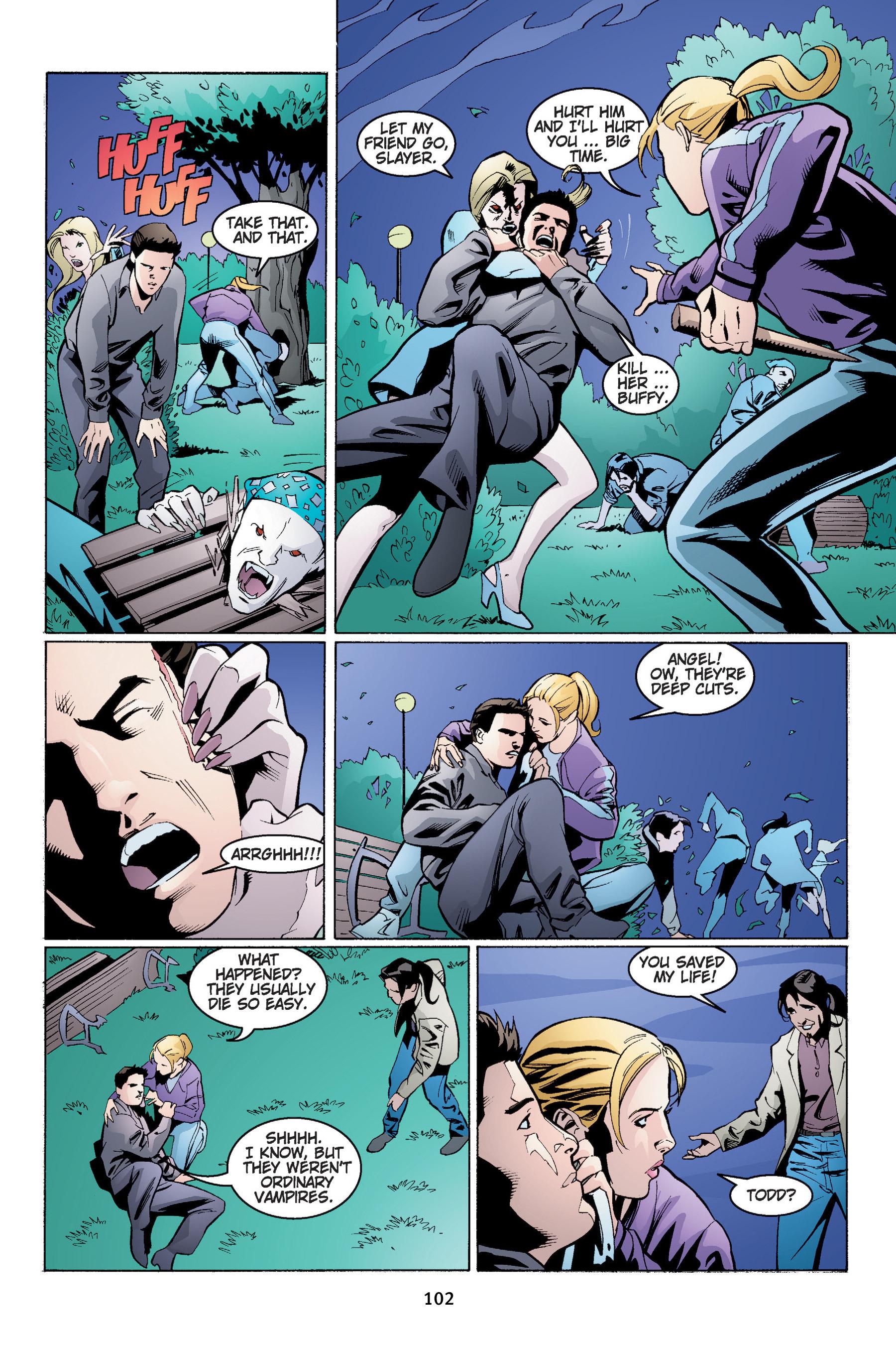 Read online Buffy the Vampire Slayer: Omnibus comic -  Issue # TPB 4 - 103