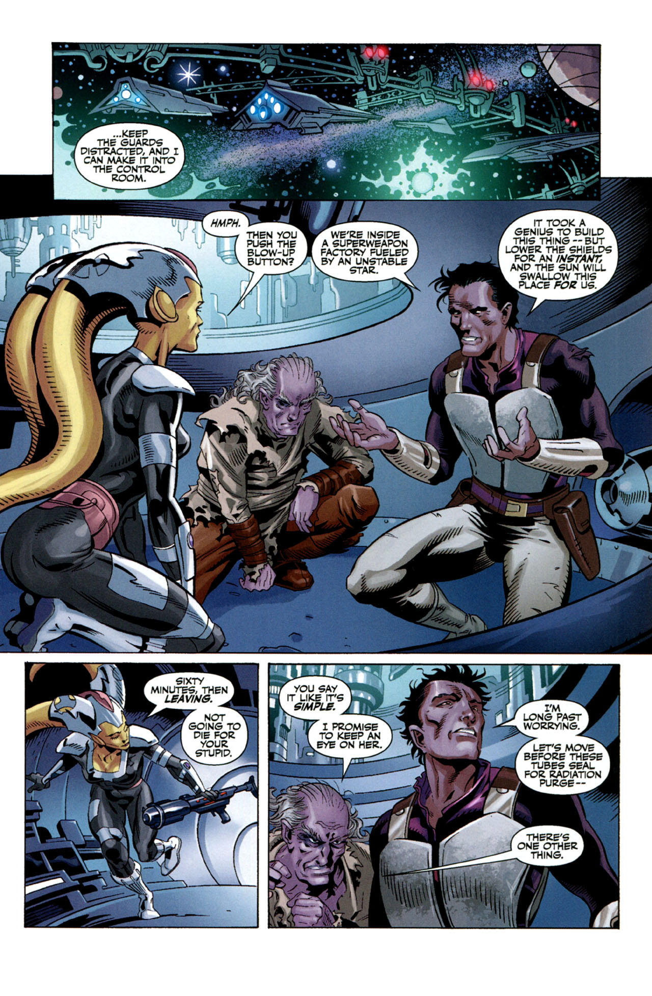 Read online Star Wars: The Old Republic - The Lost Suns comic -  Issue #5 - 3