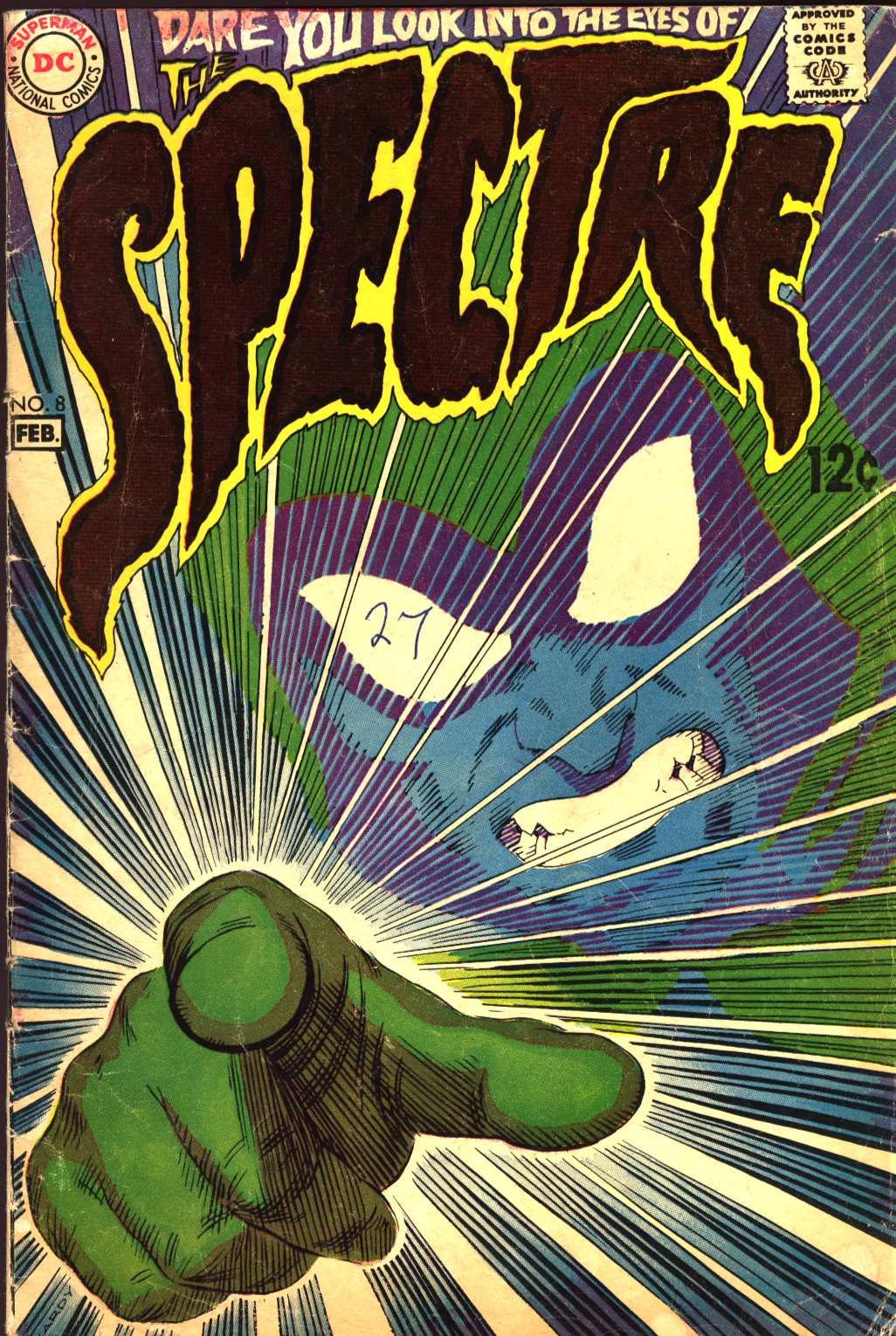 The Spectre (1967) 8 Page 1