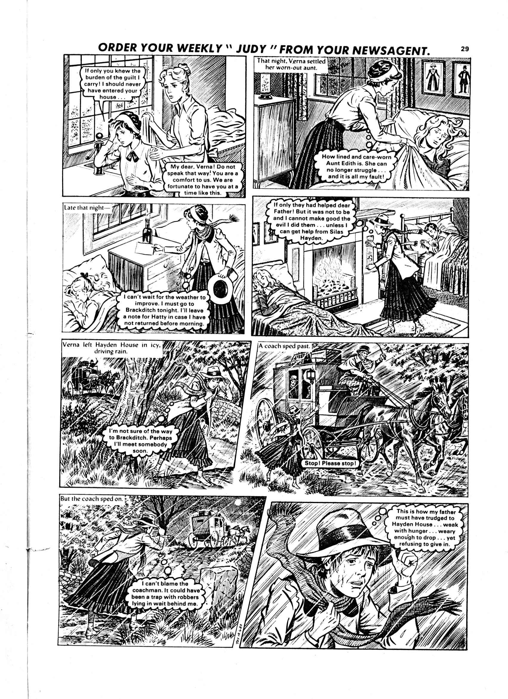 Read online Judy comic -  Issue #58 - 29