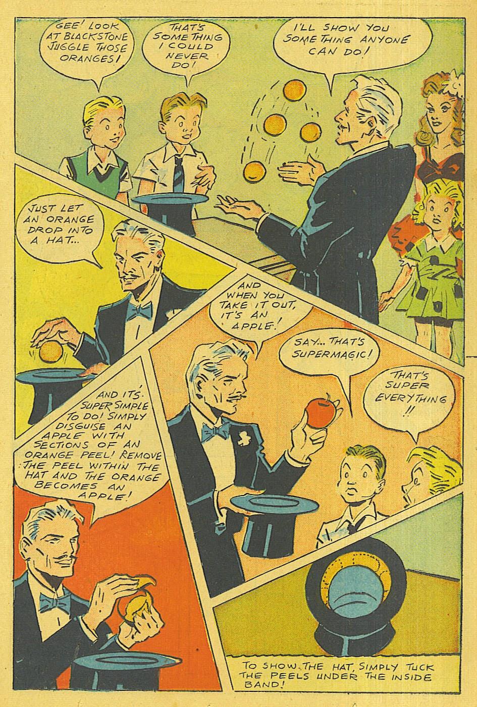 Read online Super-Magician Comics comic -  Issue #42 - 18