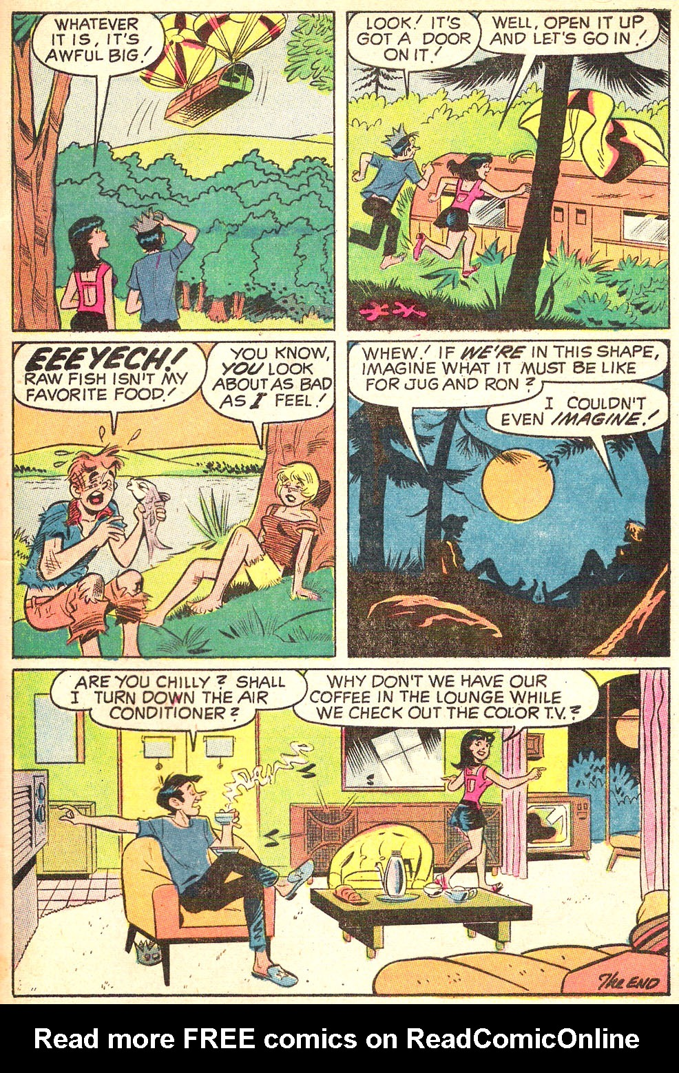 Read online Archie's Girls Betty and Veronica comic -  Issue #179 - 32