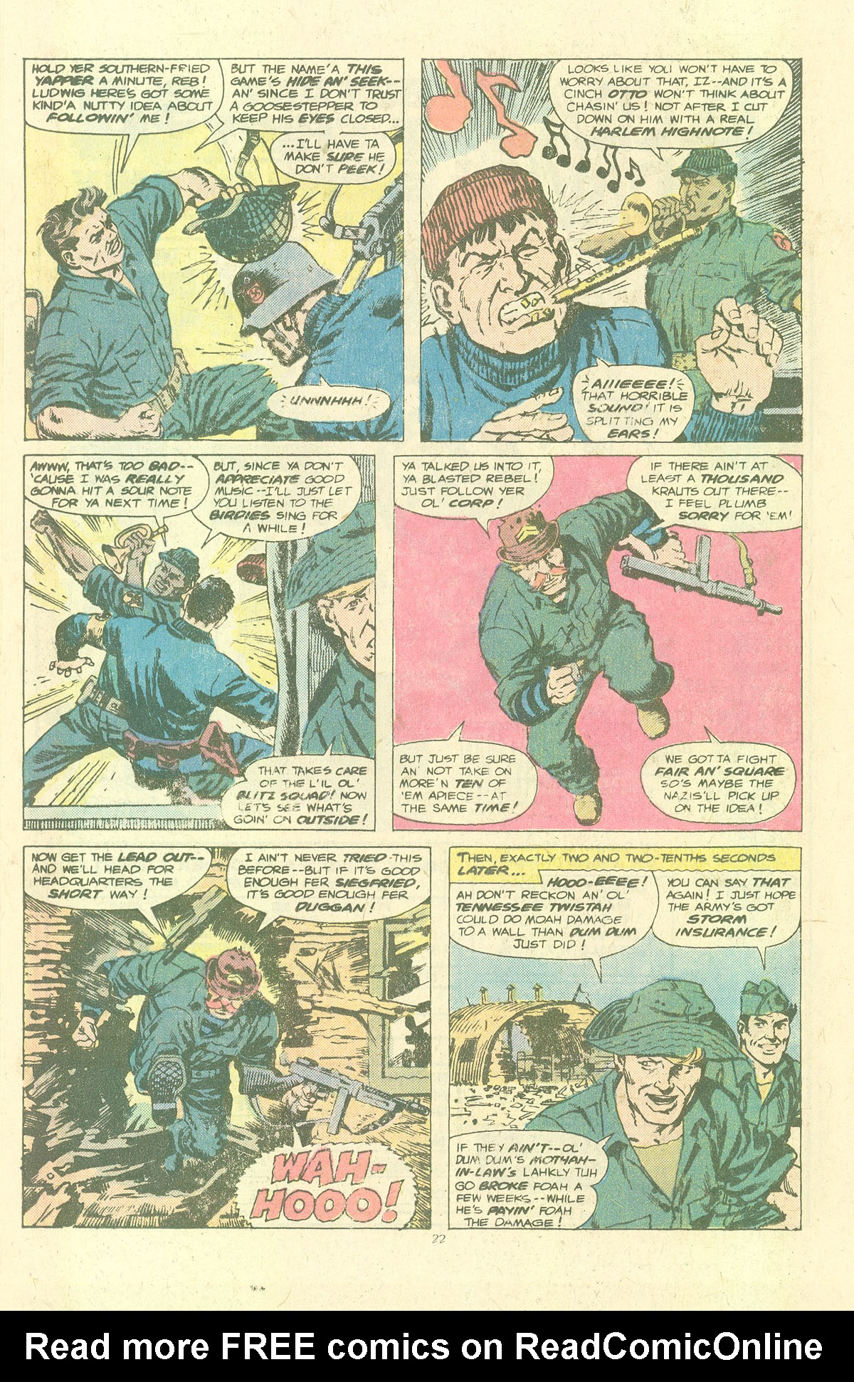 Read online Sgt. Fury comic -  Issue #143 - 24