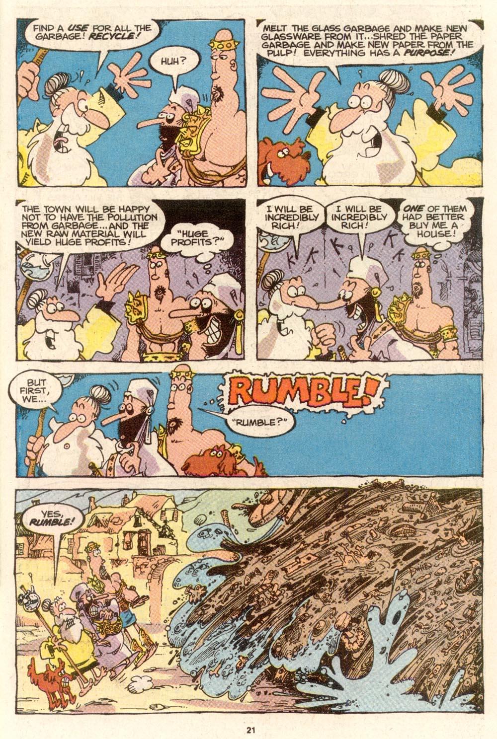 Read online Sergio Aragonés Groo the Wanderer comic -  Issue #65 - 22