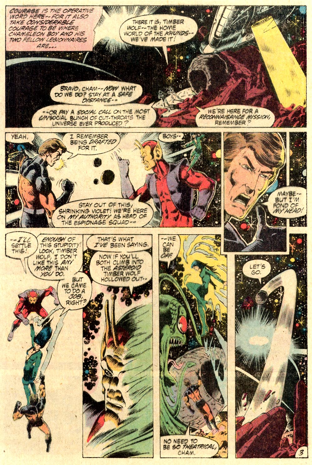 Legion of Super-Heroes (1980) 287 Page 3