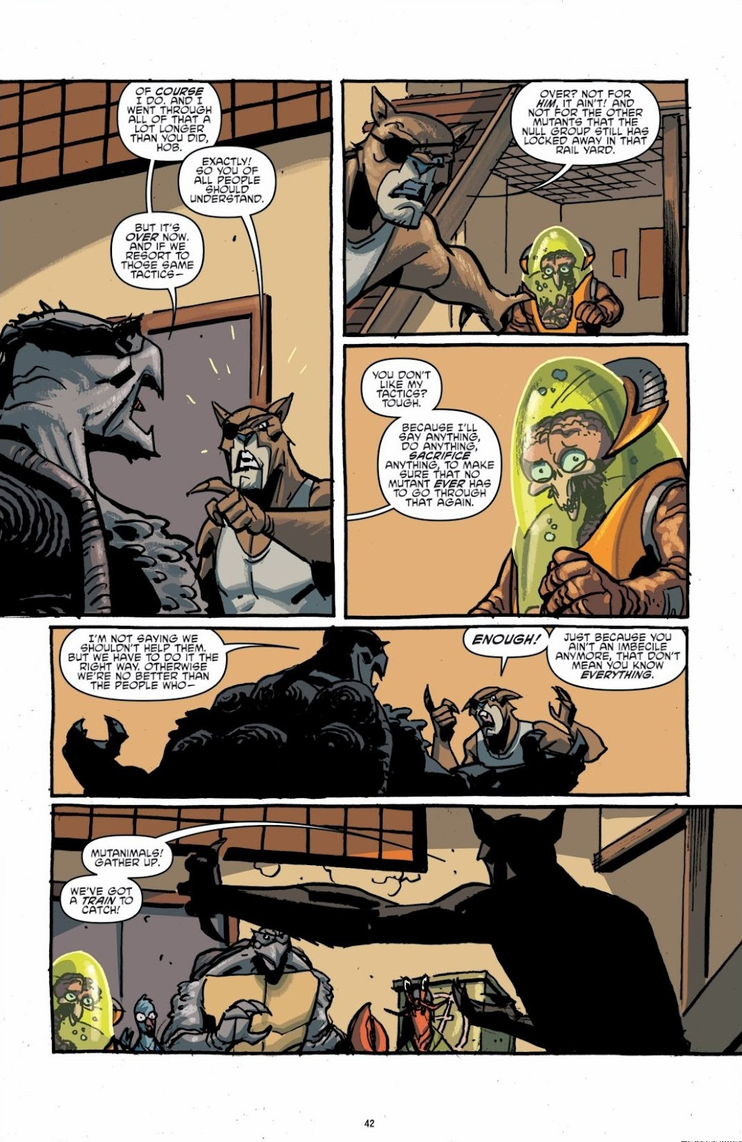 Read online Teenage Mutant Ninja Turtles: The IDW Collection comic -  Issue # TPB 6 (Part 1) - 41