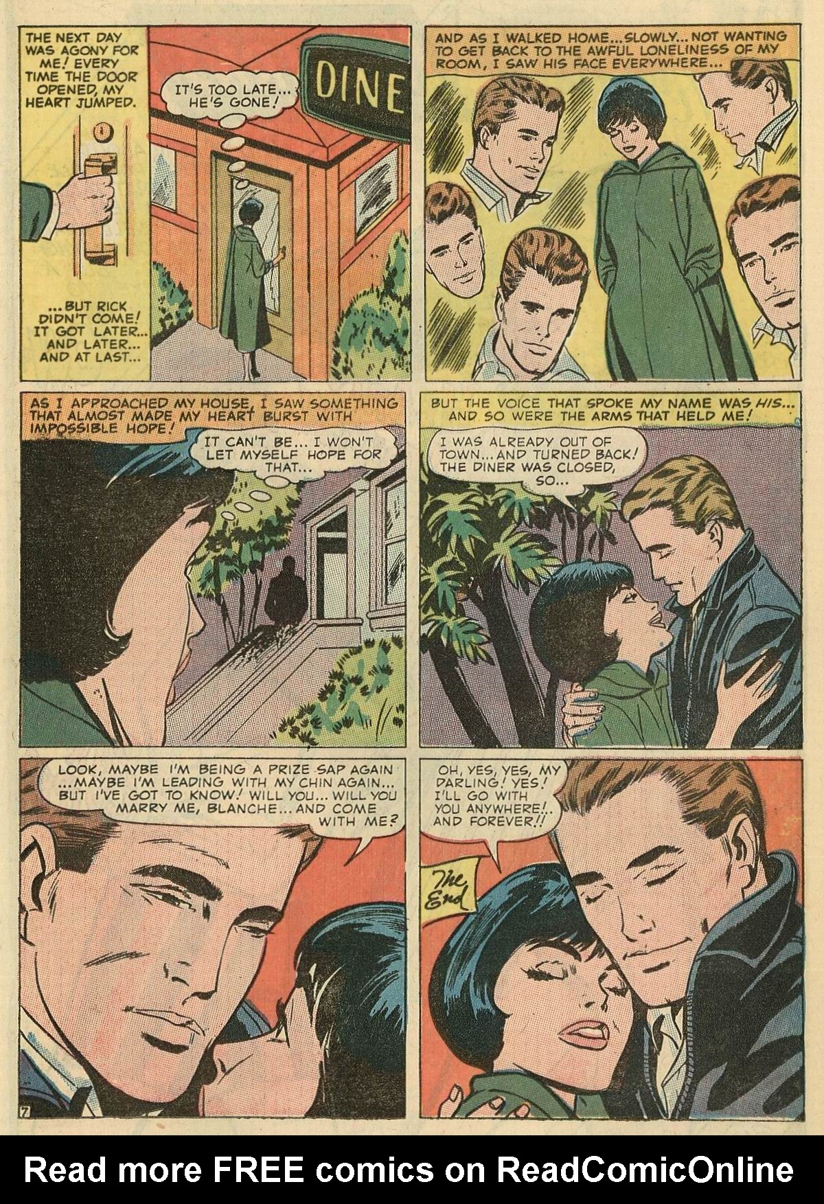 Read online Secret Hearts comic -  Issue #125 - 15