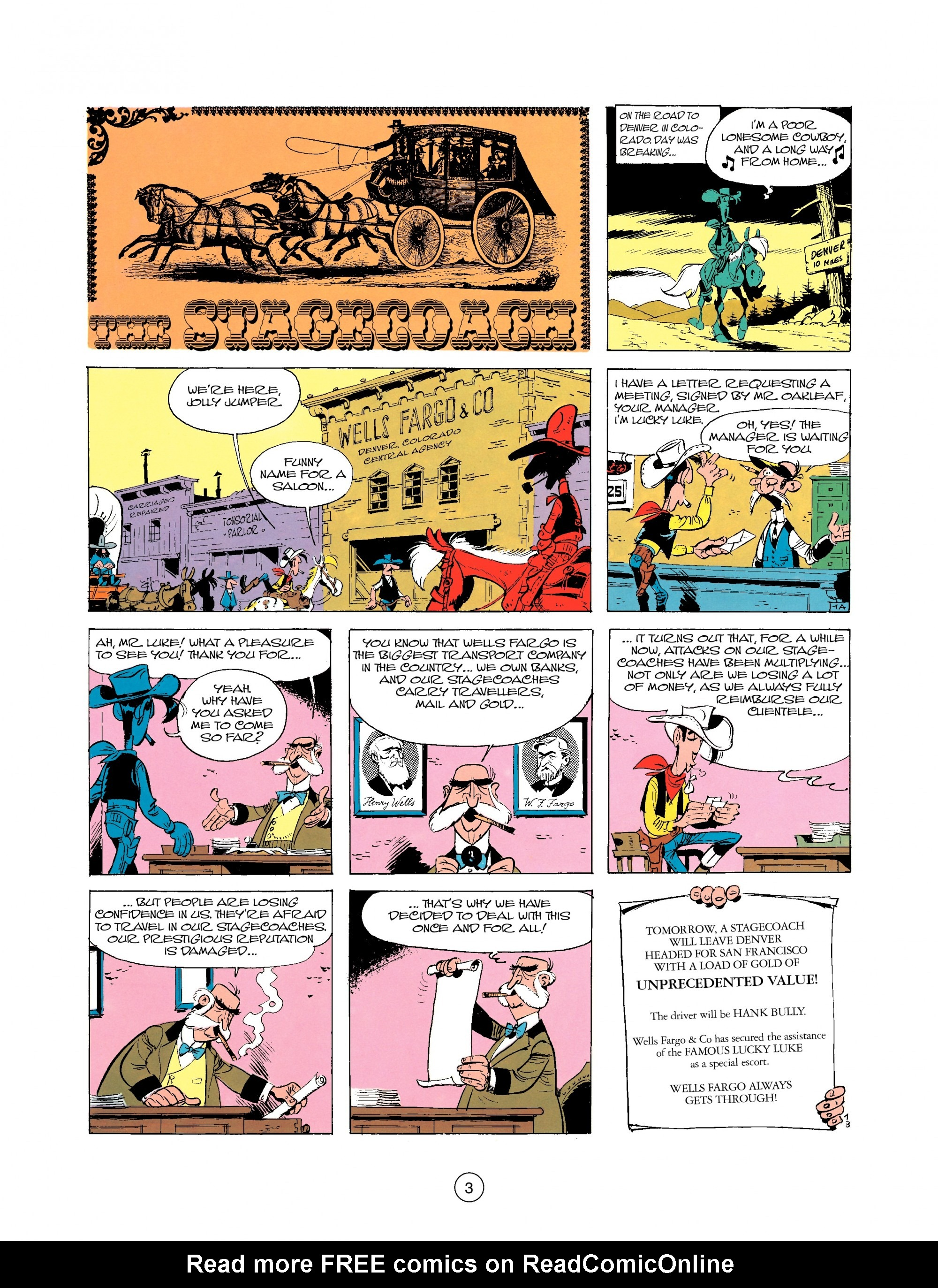 Read online A Lucky Luke Adventure comic -  Issue #25 - 3