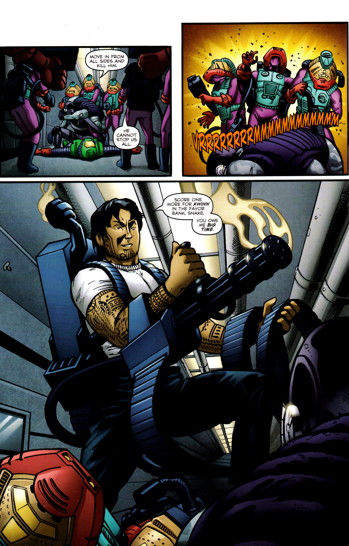 Read online G.I. Joe: Snake Eyes comic -  Issue #8 - 19