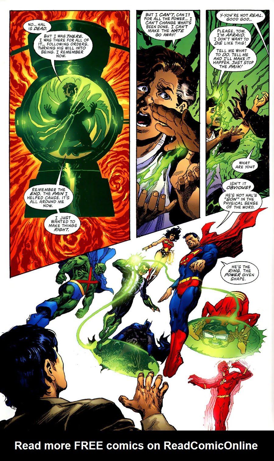 Read online Green Lantern: Legacy: The Last Will and Testament of Hal Jordan comic -  Issue # TPB - 82
