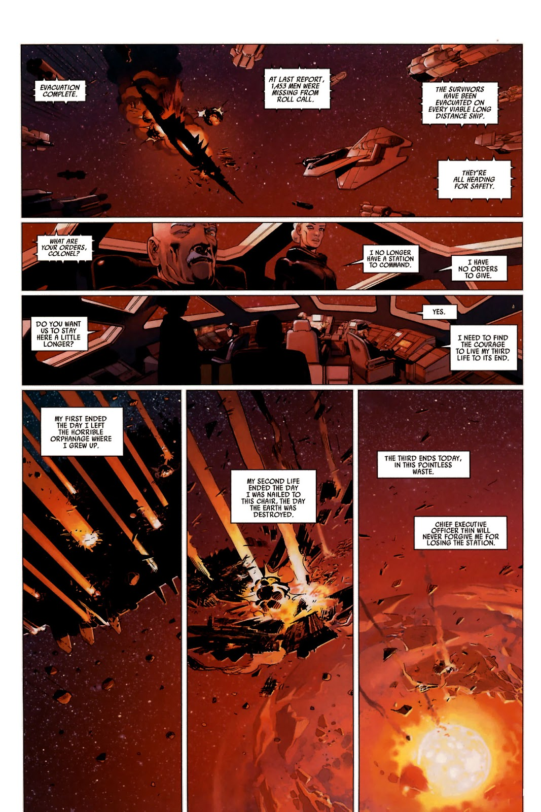 Read online Universal War One: Revelations comic -  Issue #2 - 38