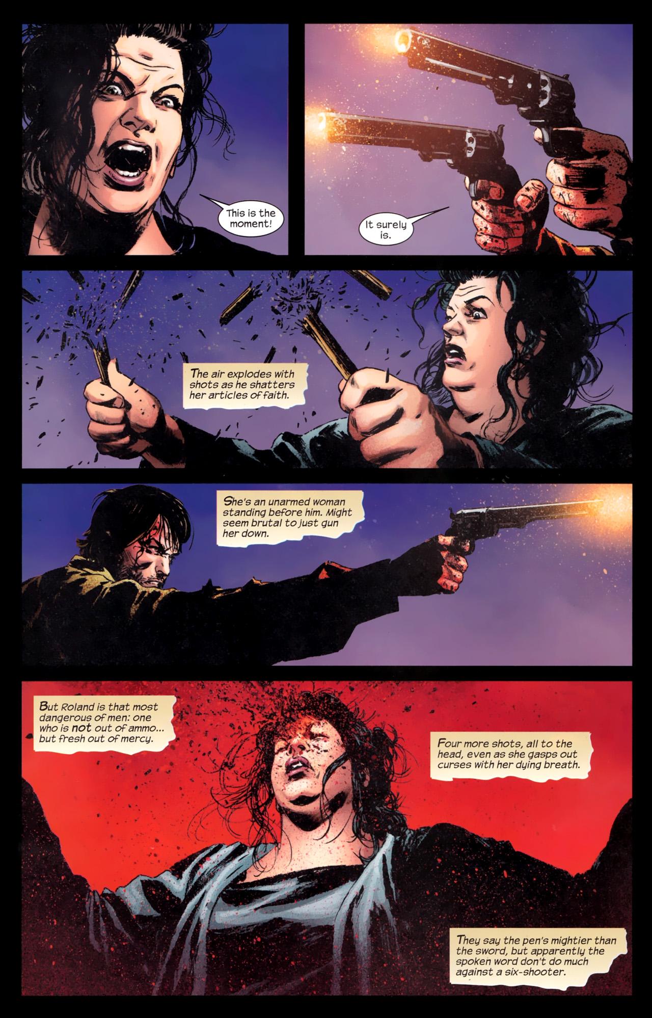 Read online Dark Tower: The Gunslinger - The Battle of Tull comic -  Issue #5 - 14
