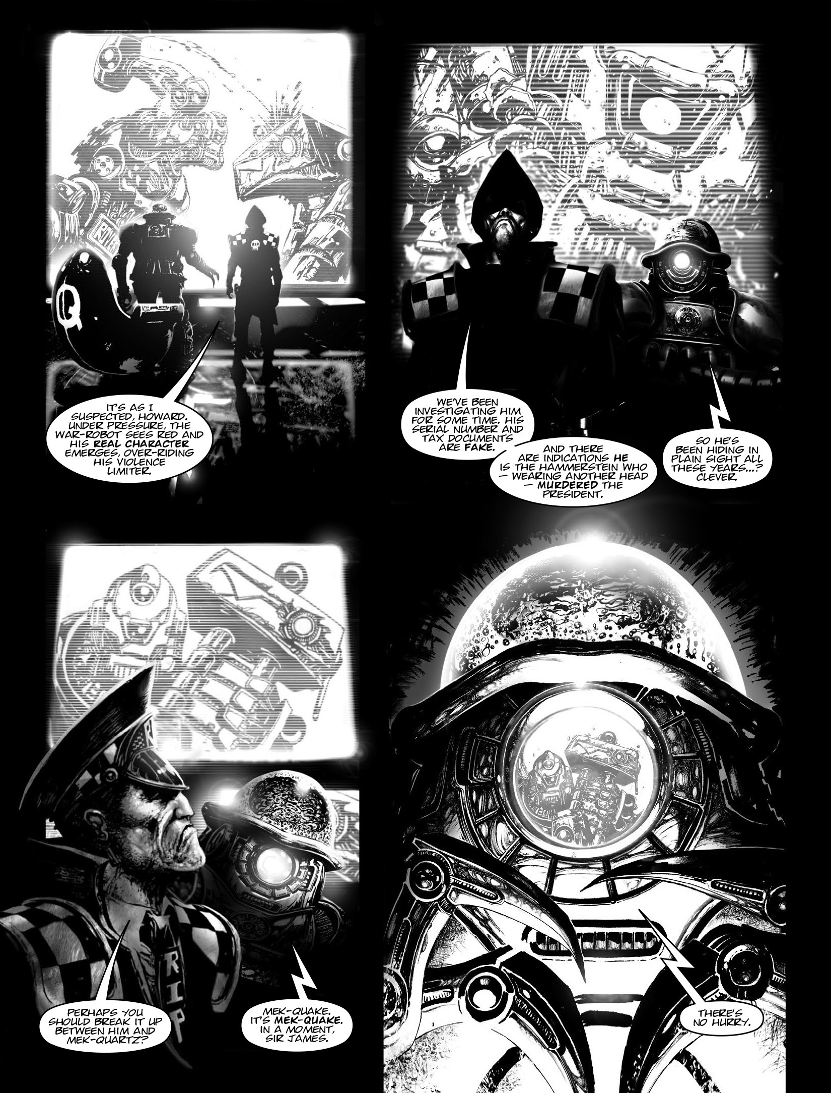 Read online 2000 AD comic -  Issue #1964 - 22