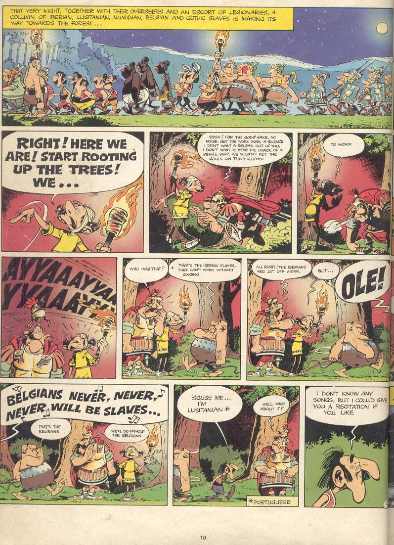 Read online Asterix comic -  Issue #17 - 8