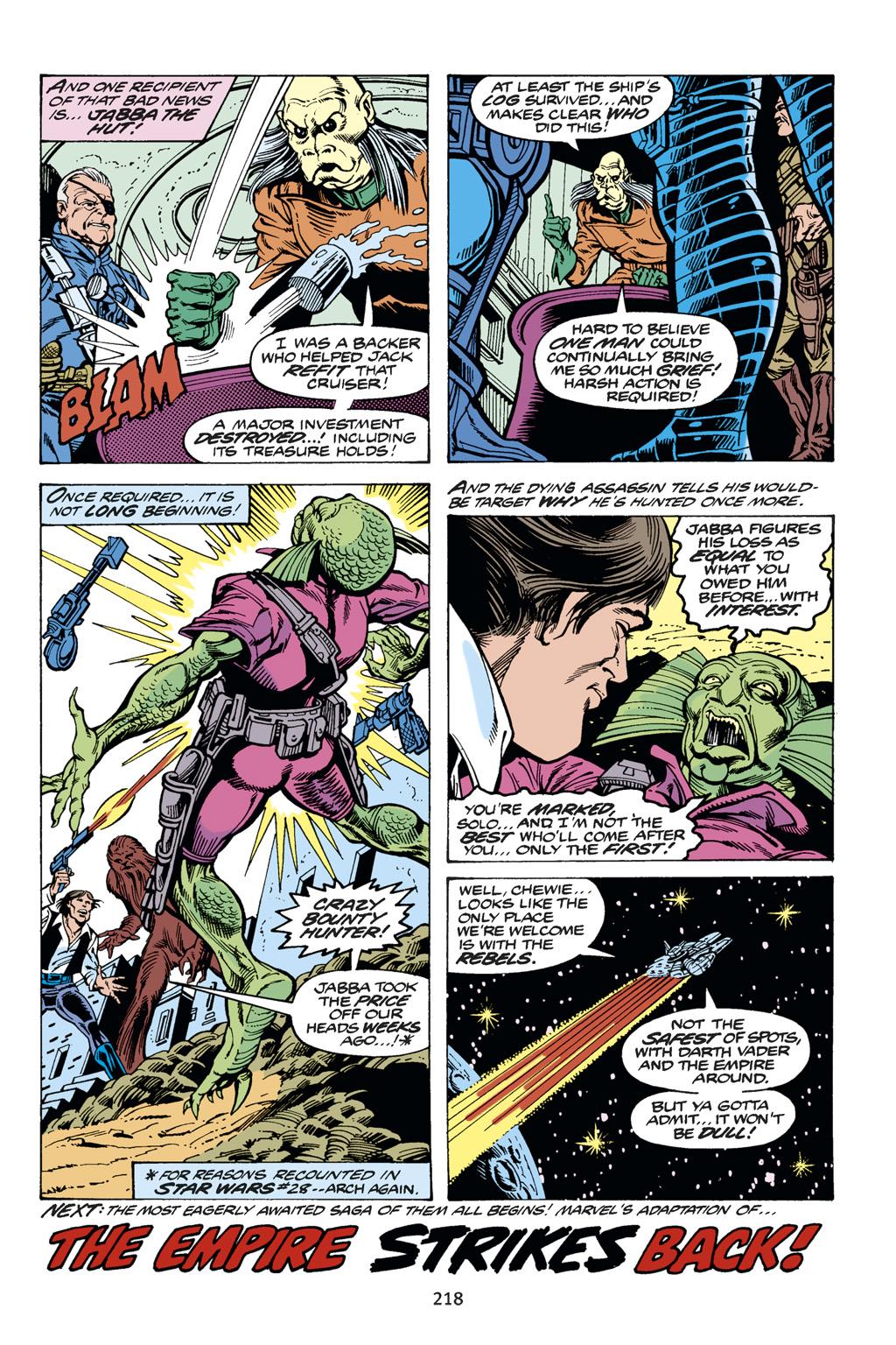 Read online Star Wars Omnibus comic -  Issue # Vol. 14 - 217
