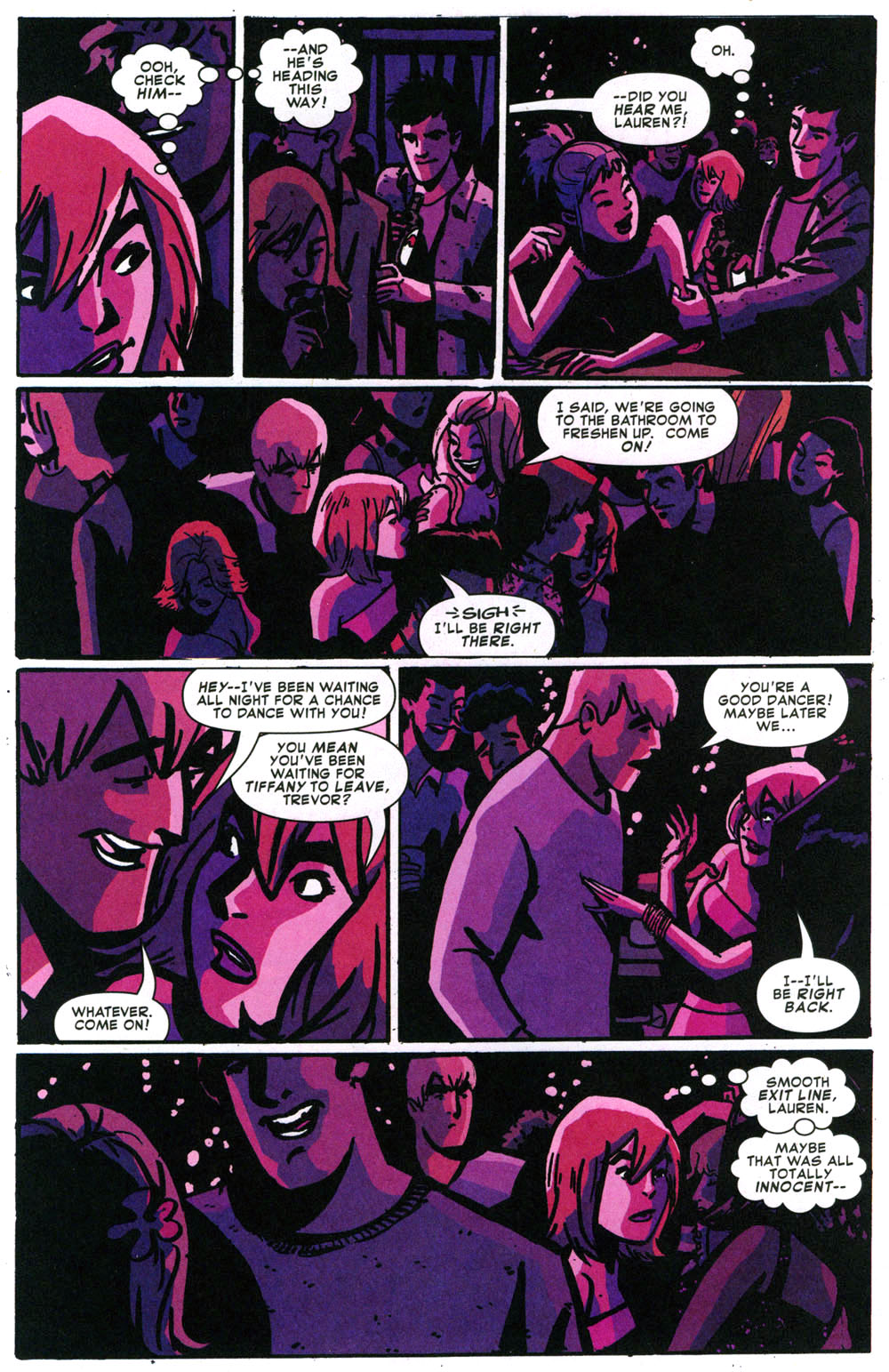 Read online Bad Girls comic -  Issue #1 - 18