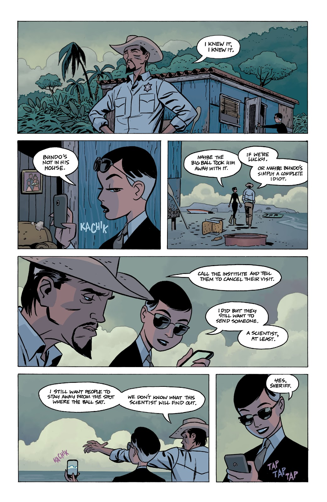 Read online The Twilight Children comic -  Issue #1 - 16