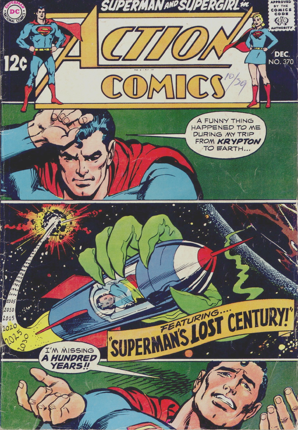 Read online Action Comics (1938) comic -  Issue #370 - 1