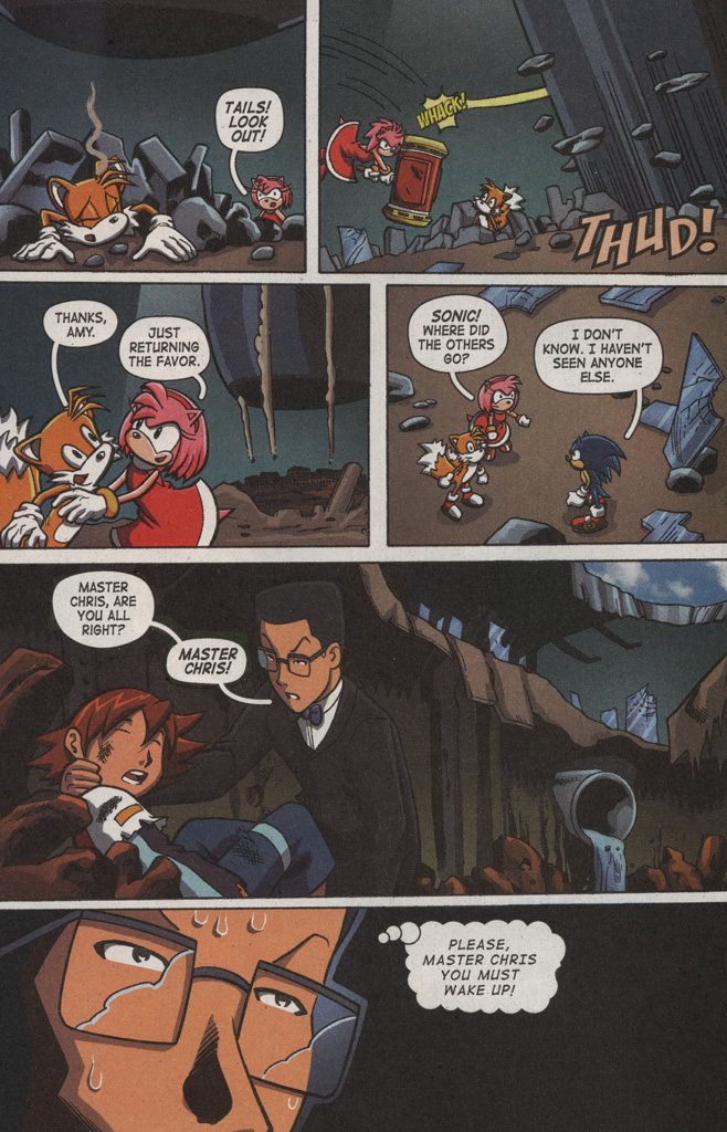 Read online Sonic X comic -  Issue #9 - 10