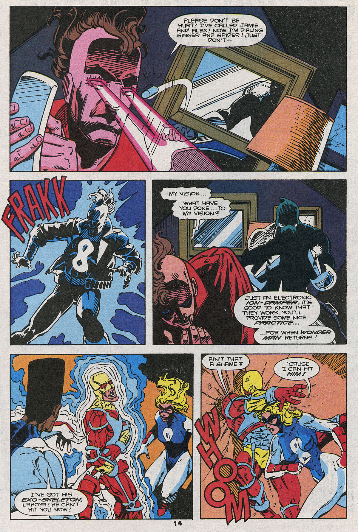 Read online Wonder Man (1991) comic -  Issue #20 - 12