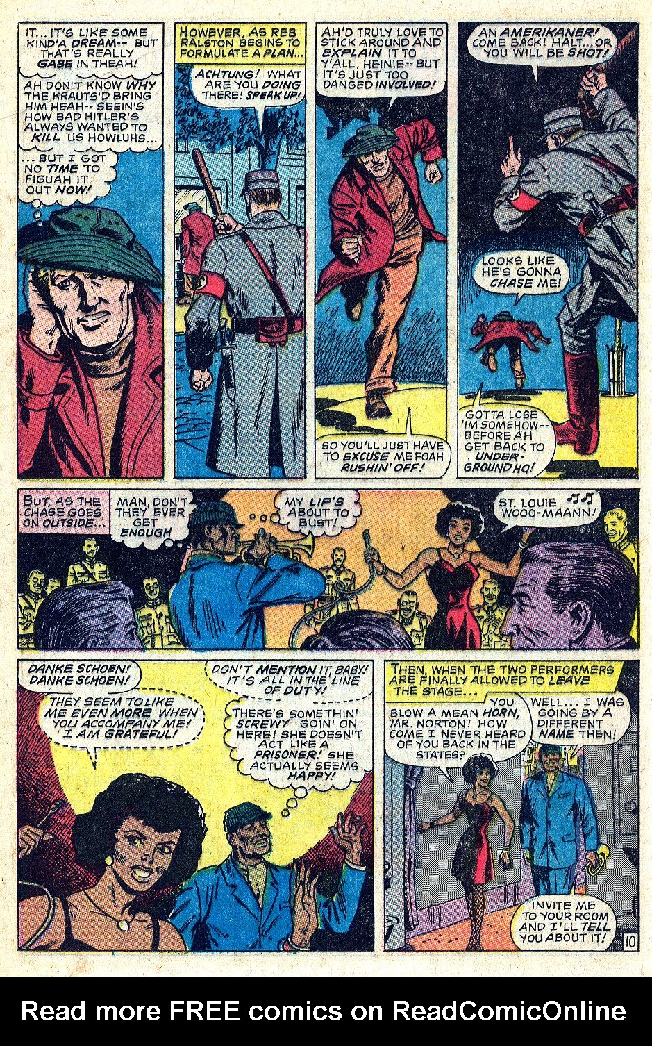 Read online Sgt. Fury comic -  Issue #56 - 16