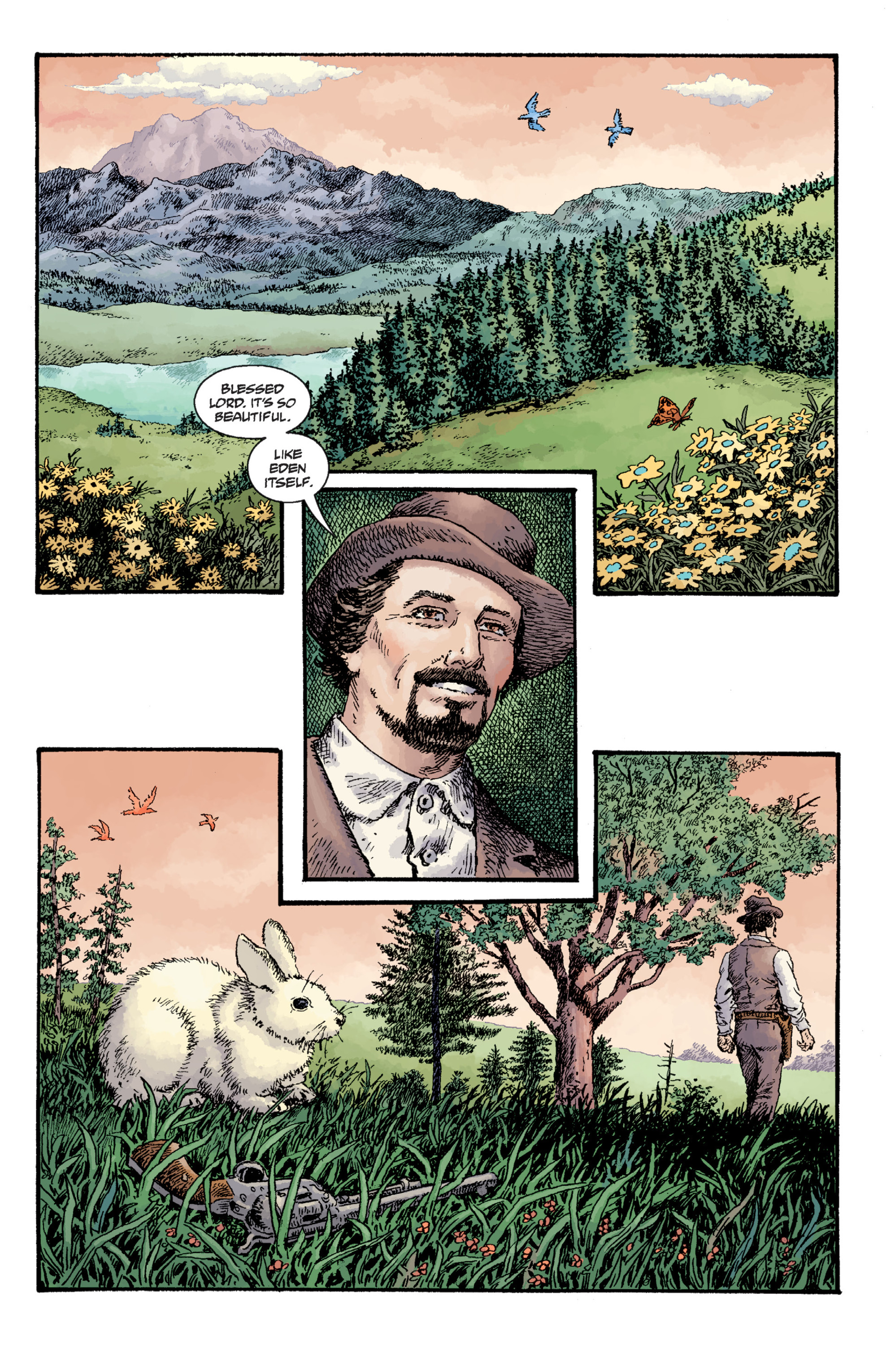 Read online Sir Edward Grey, Witchfinder: Lost and Gone Forever comic -  Issue # TPB - 110