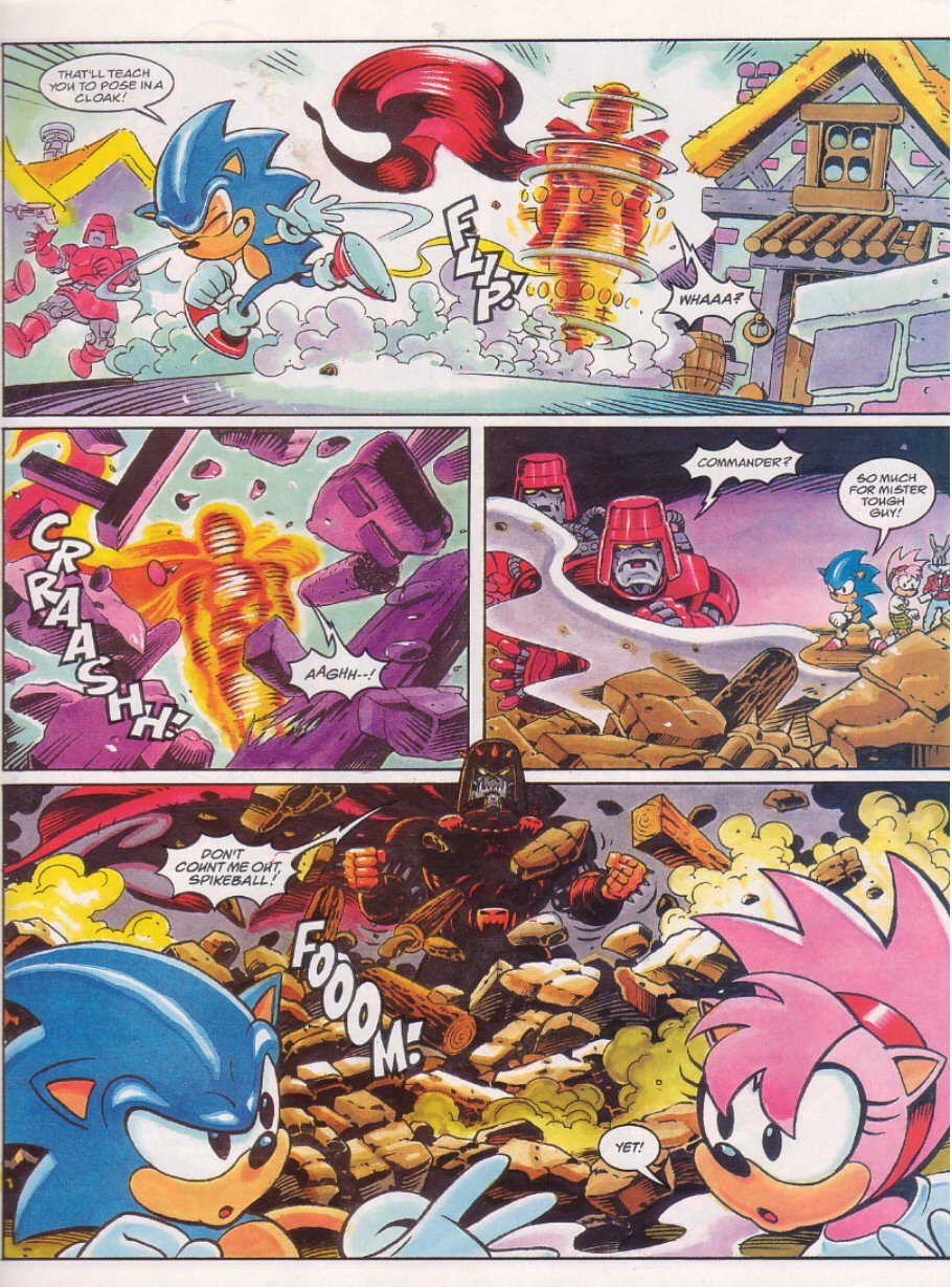 Read online Sonic the Comic comic -  Issue #64 - 7