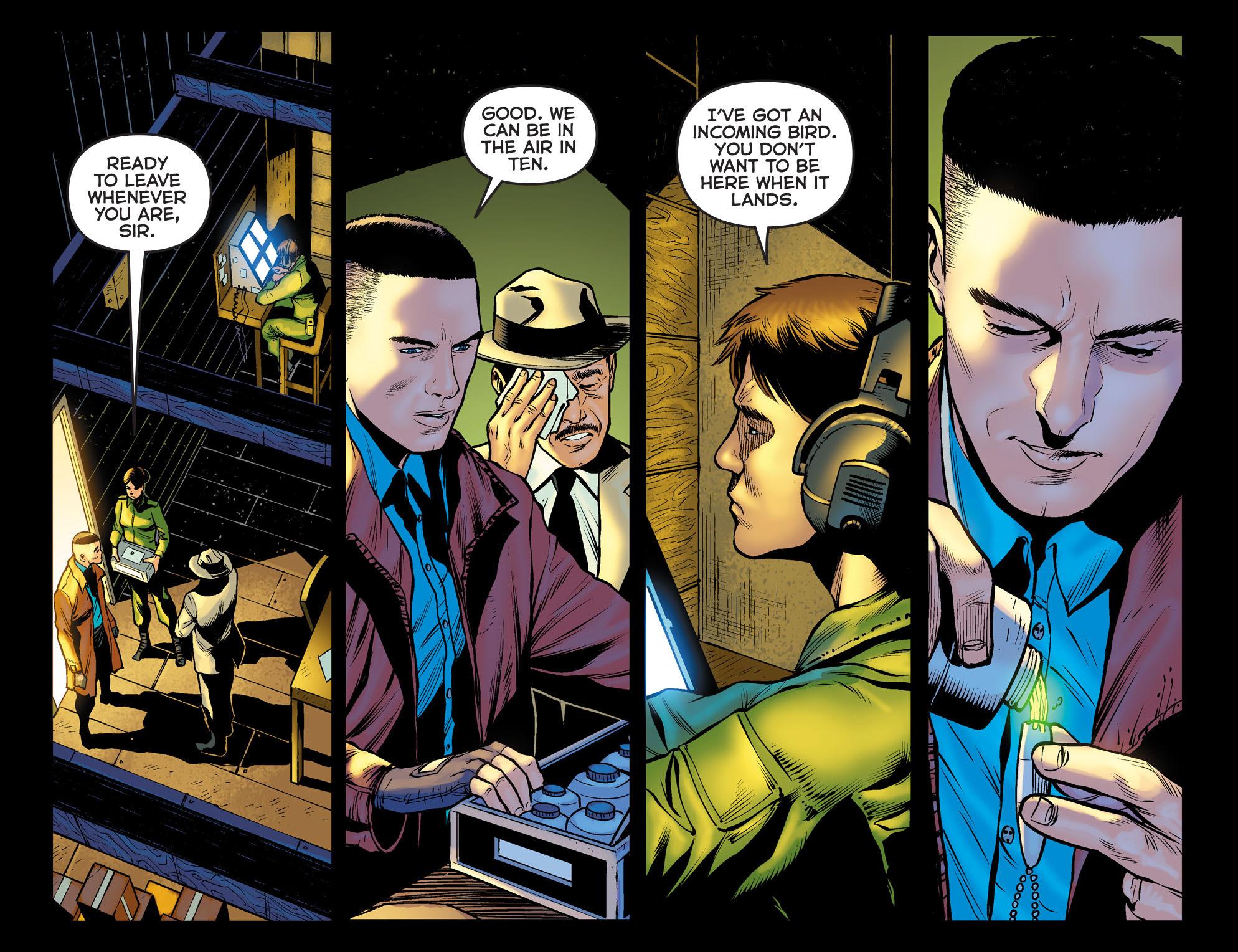 Read online Arrow: The Dark Archer comic -  Issue #11 - 17