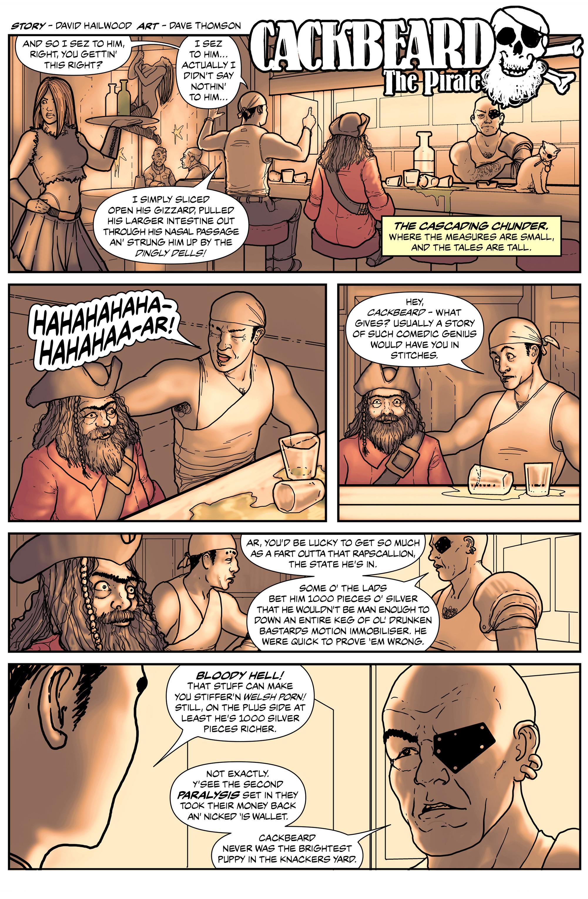 Read online 100% Biodegradable comic -  Issue #14 - 15