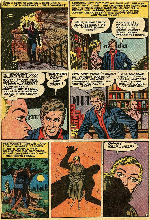 Read online Adventures into Weird Worlds comic -  Issue #9 - 3