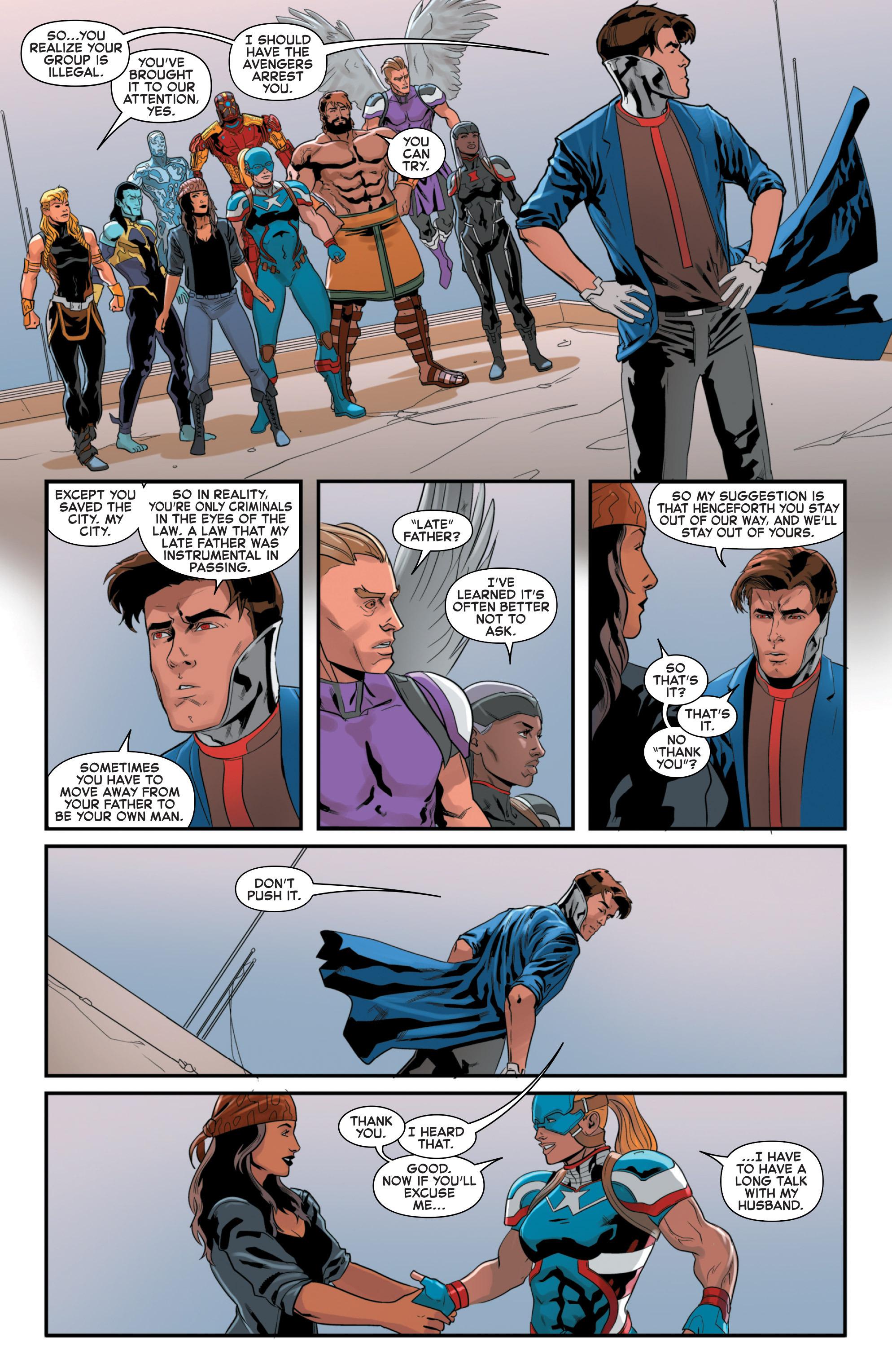 Read online Secret Wars 2099 comic -  Issue #5 - 20