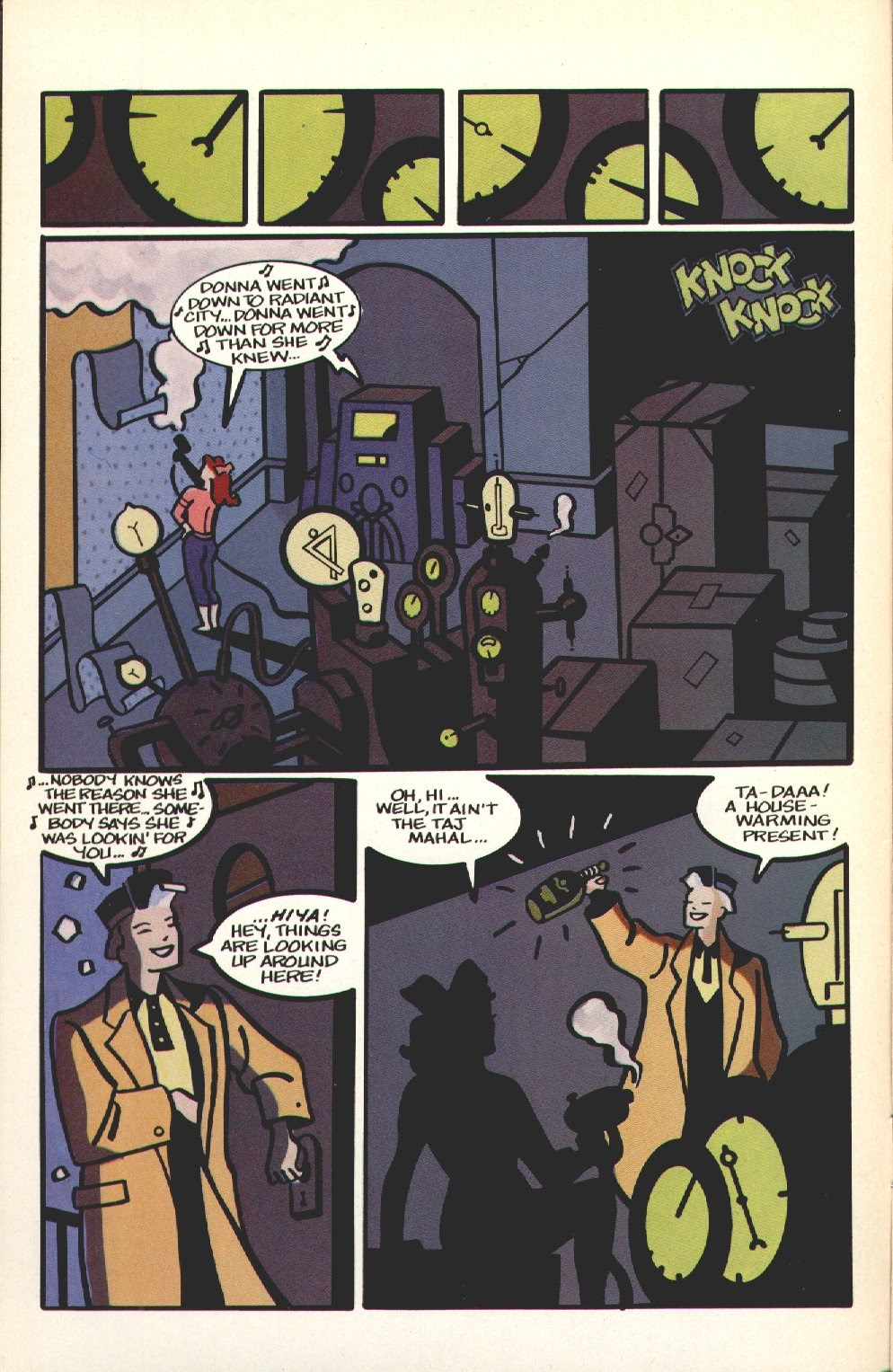 Mister X issue 11 - Page 4