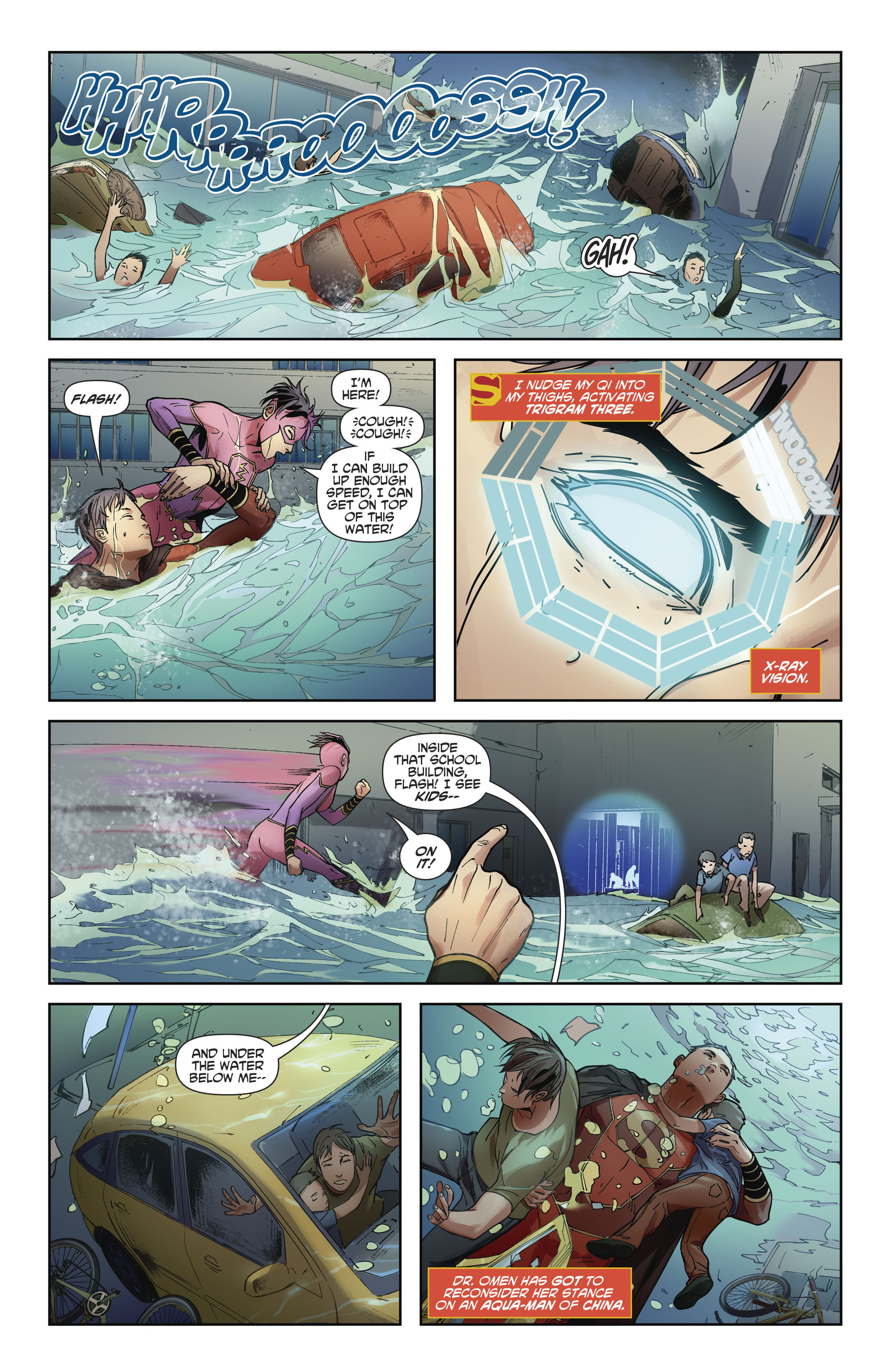 Read online New Super-Man comic -  Issue #11 - 15
