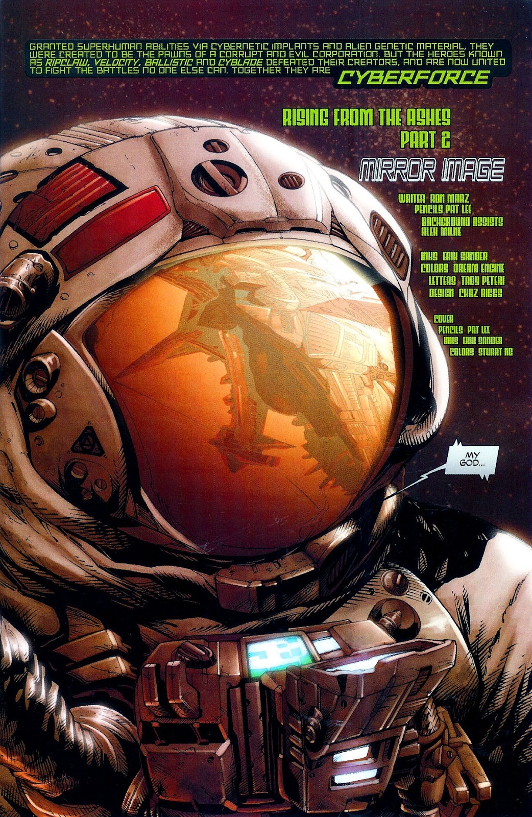 Cyberforce (2006) Issue #2 #3 - English 3