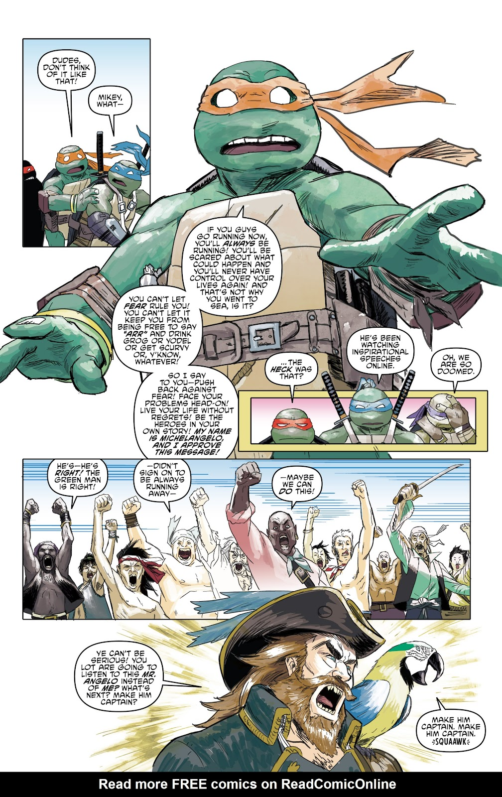 Read online Teenage Mutant Ninja Turtles: The IDW Collection comic -  Issue # TPB 5 (Part 1) - 59