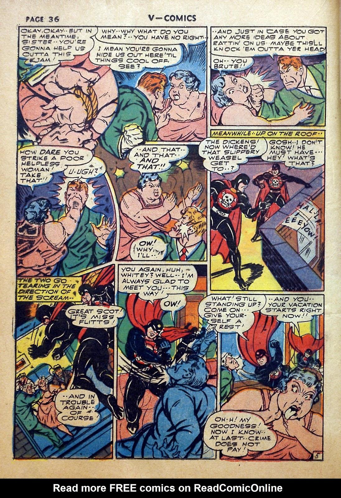 Read online V...- Comics comic -  Issue #2 - 37