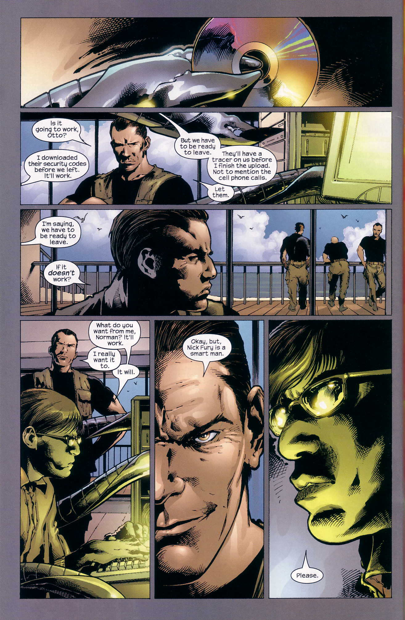 Read online Ultimate Six comic -  Issue #4 - 16
