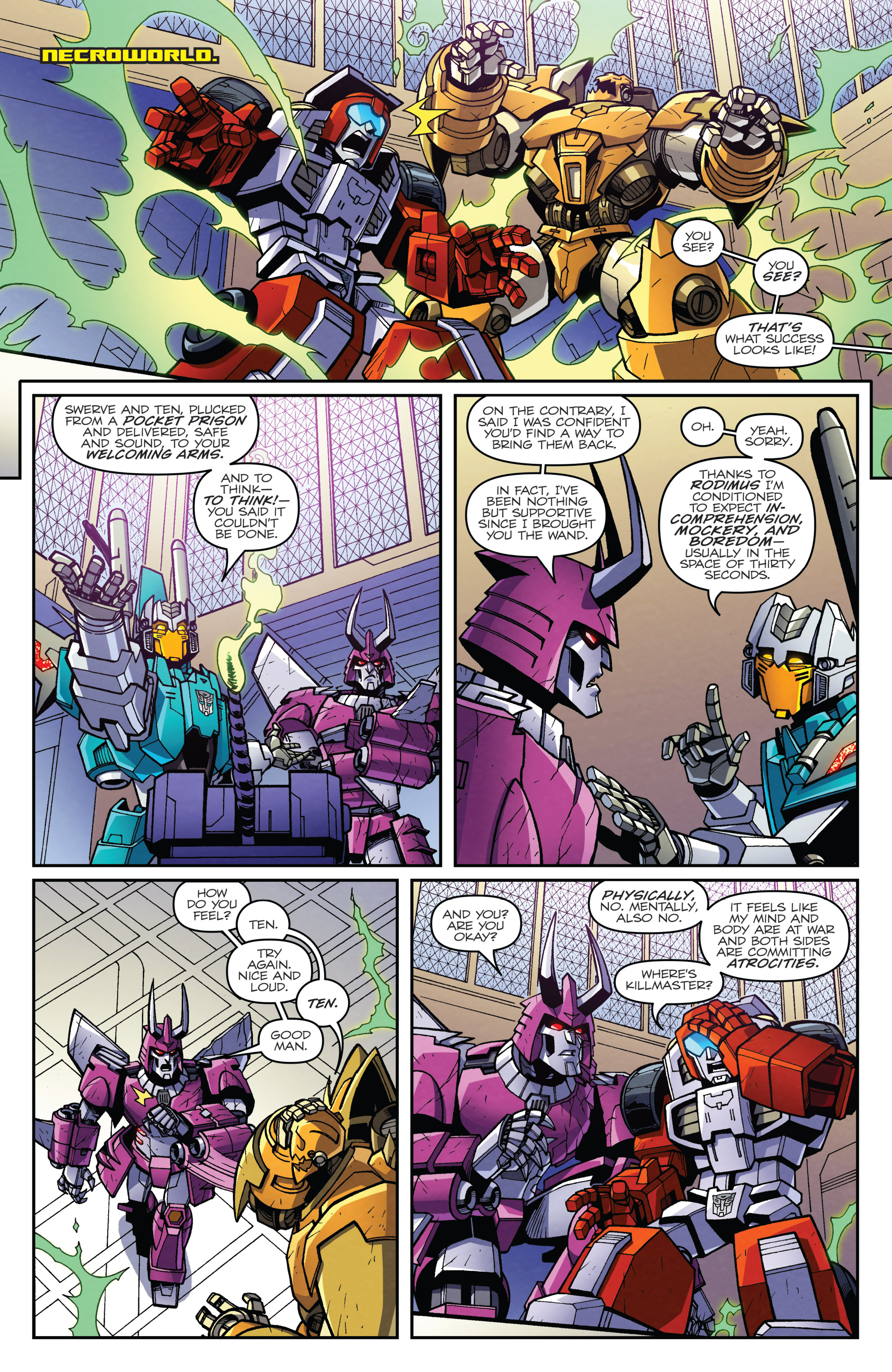 Read online Transformers: Lost Light comic -  Issue #5 - 10
