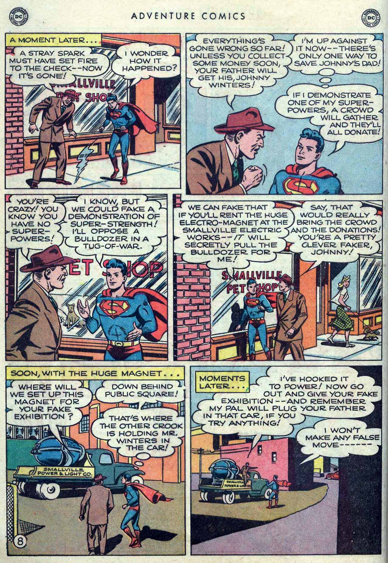 Read online Adventure Comics (1938) comic -  Issue #149 - 10