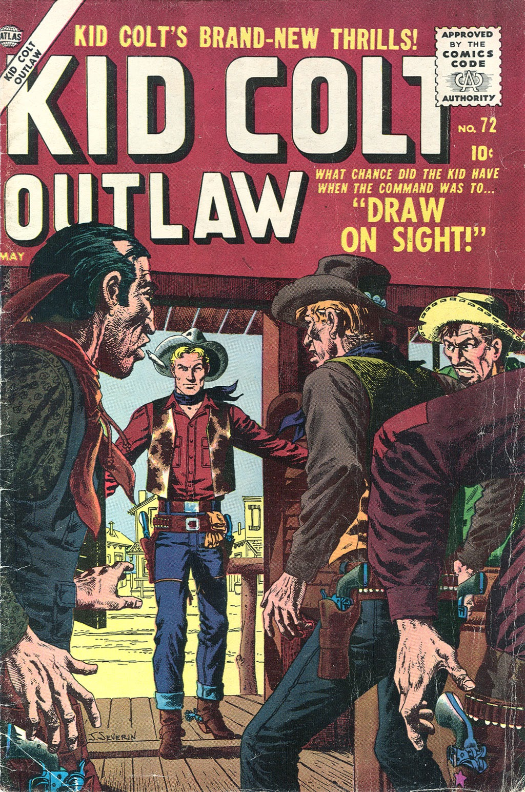 Kid Colt Outlaw issue 72 - Page 1