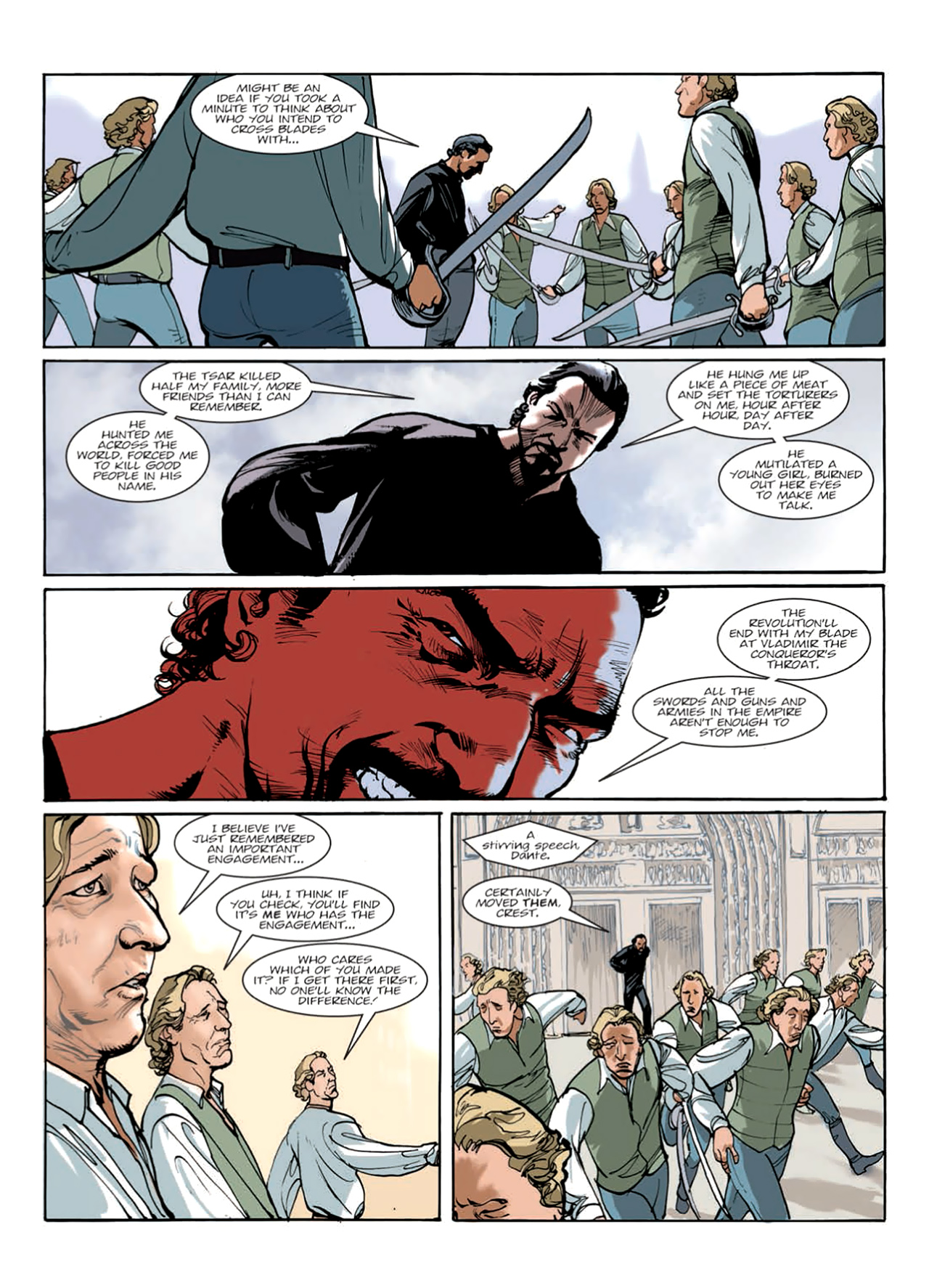 Read online Nikolai Dante comic -  Issue # TPB 9 - 141