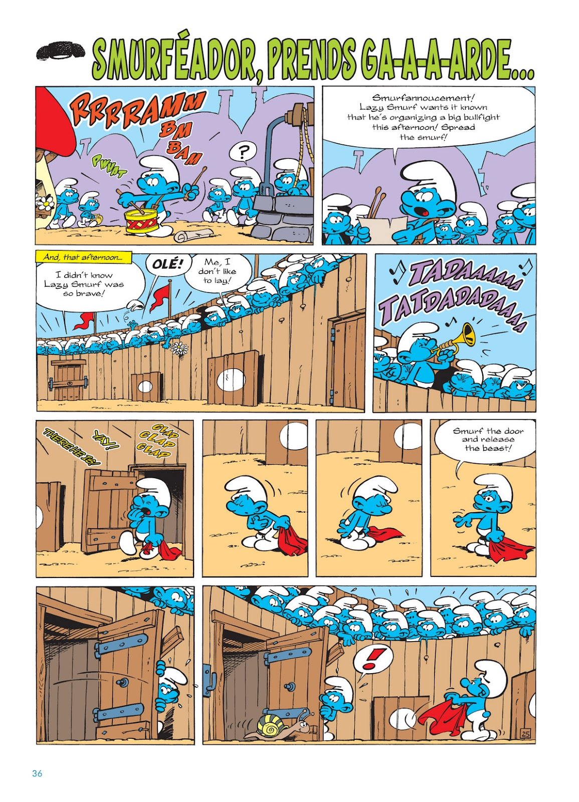 Read online The Smurfs comic -  Issue #11 - 36