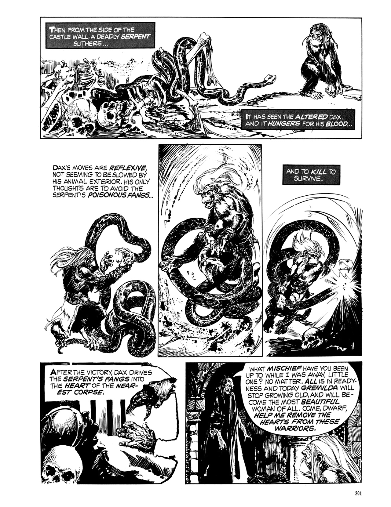 Read online Eerie Archives comic -  Issue # TPB 9 - 202