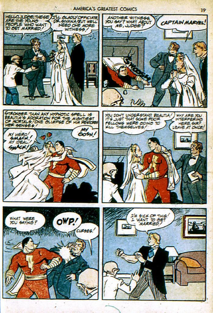 Read online America's Greatest Comics comic -  Issue #4 - 19