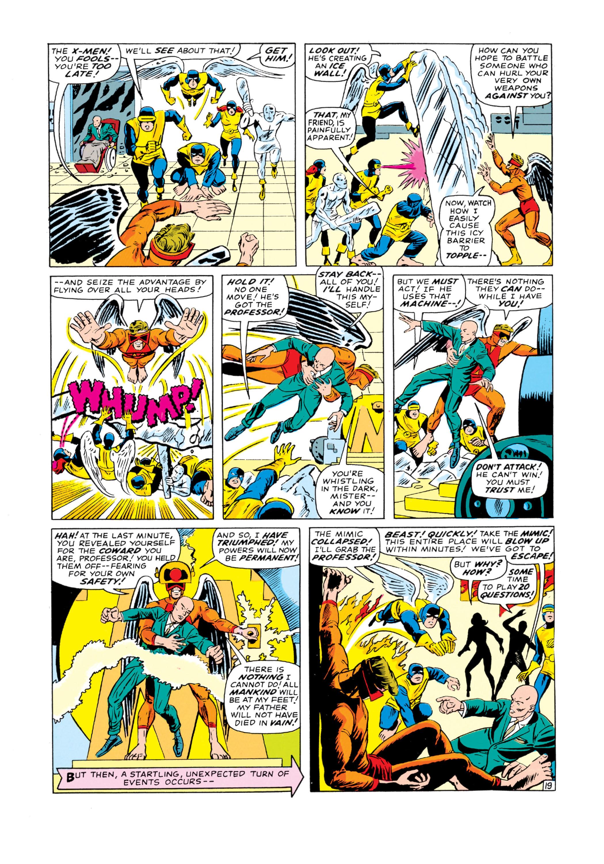 Read online Uncanny X-Men (1963) comic -  Issue #19 - 20