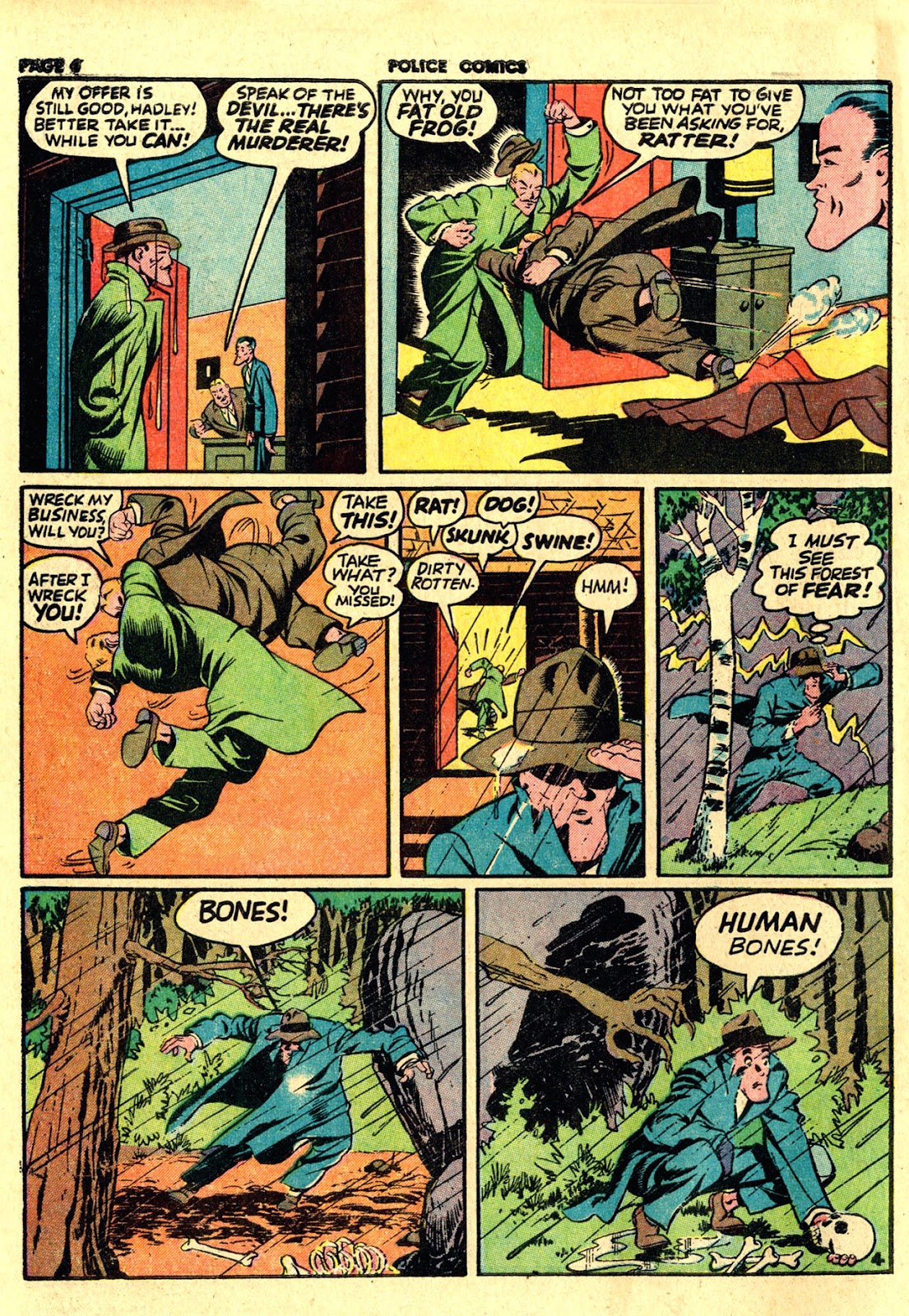 Police Comics issue 19 - Page 6